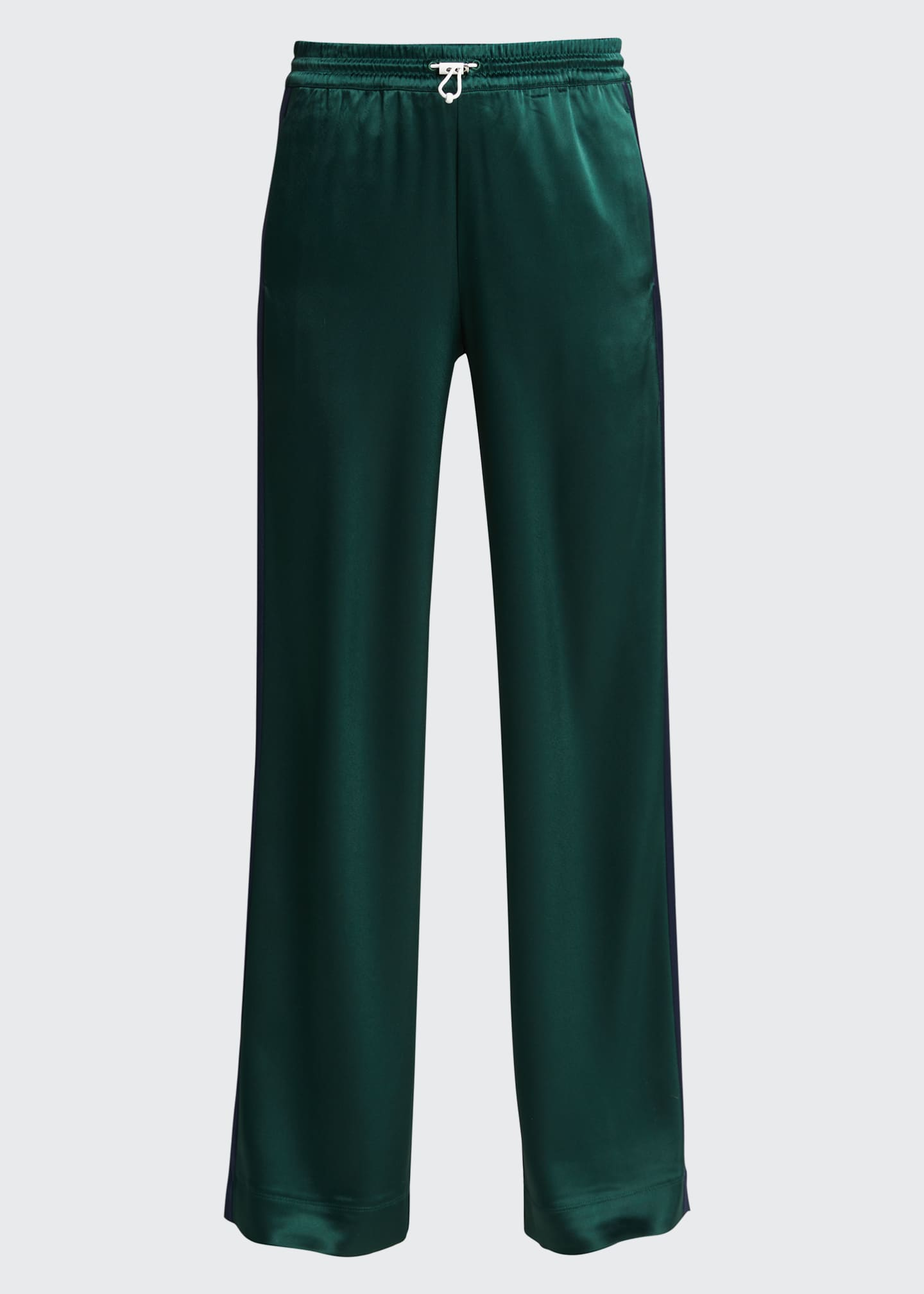 Image 5 of 5: Satin Track Pants
