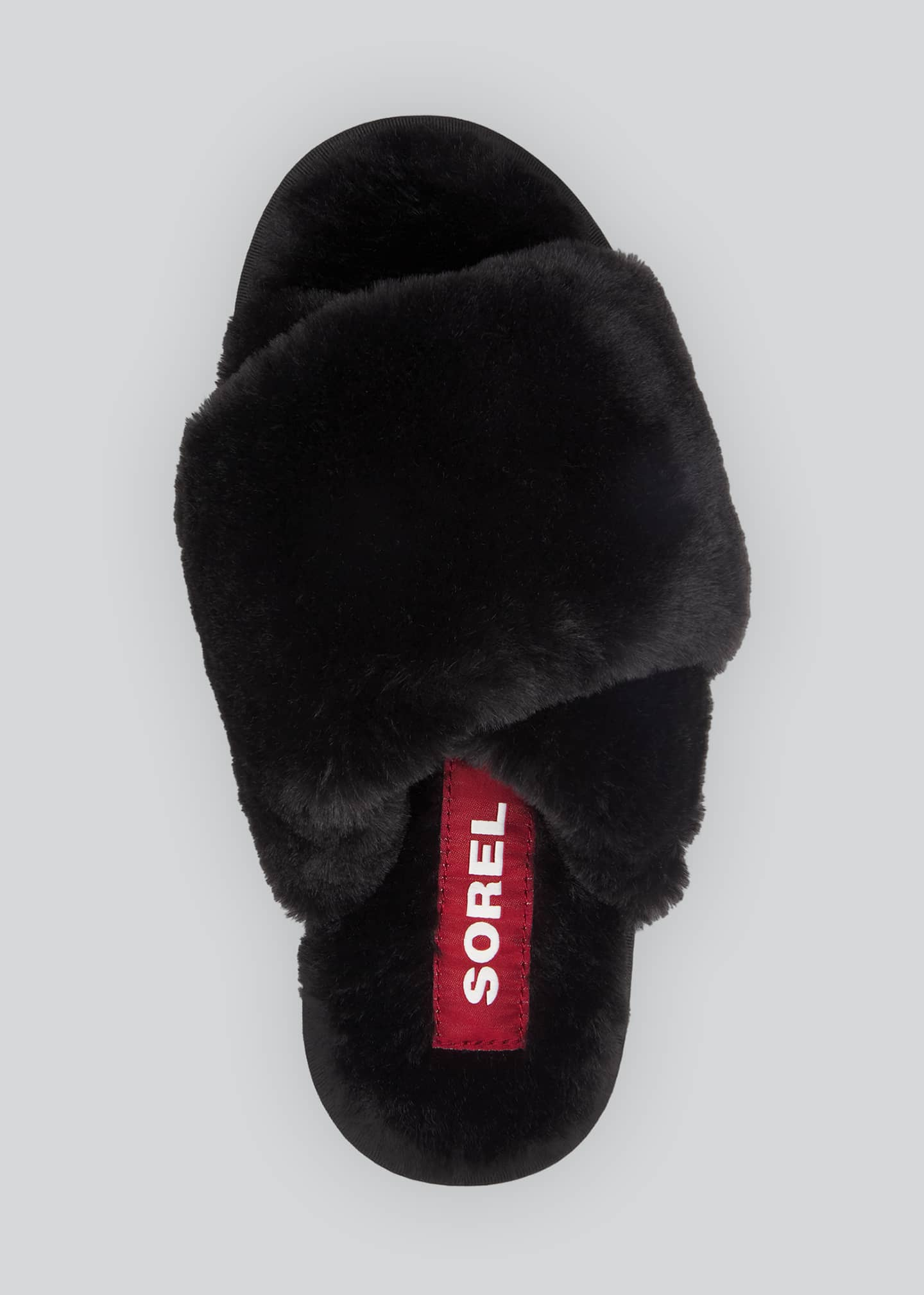 Image 5 of 5: Go Mail Run Fluffy Slippers
