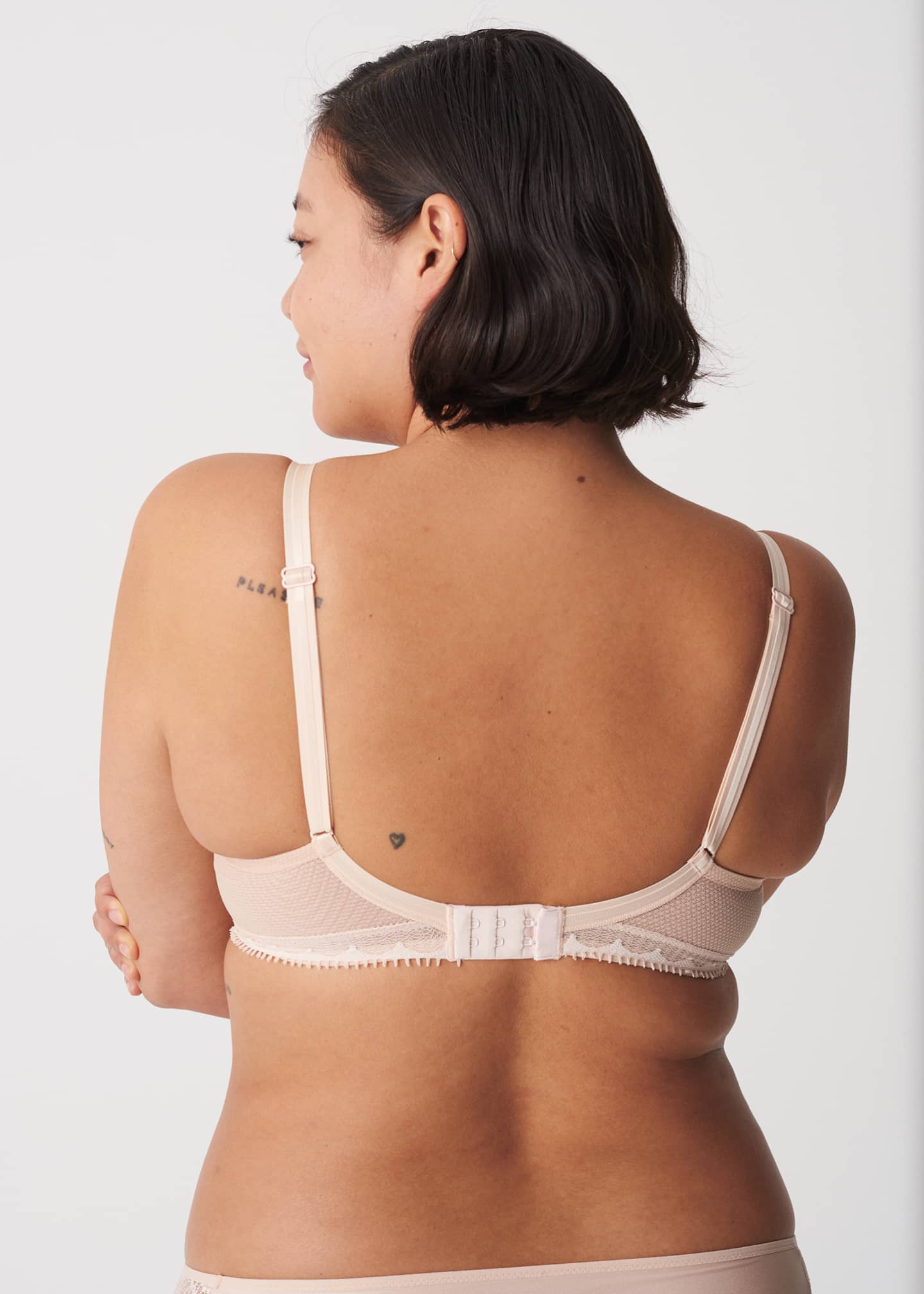 Image 2 of 2: Day to Night Lightweight Lace Plunge Bra