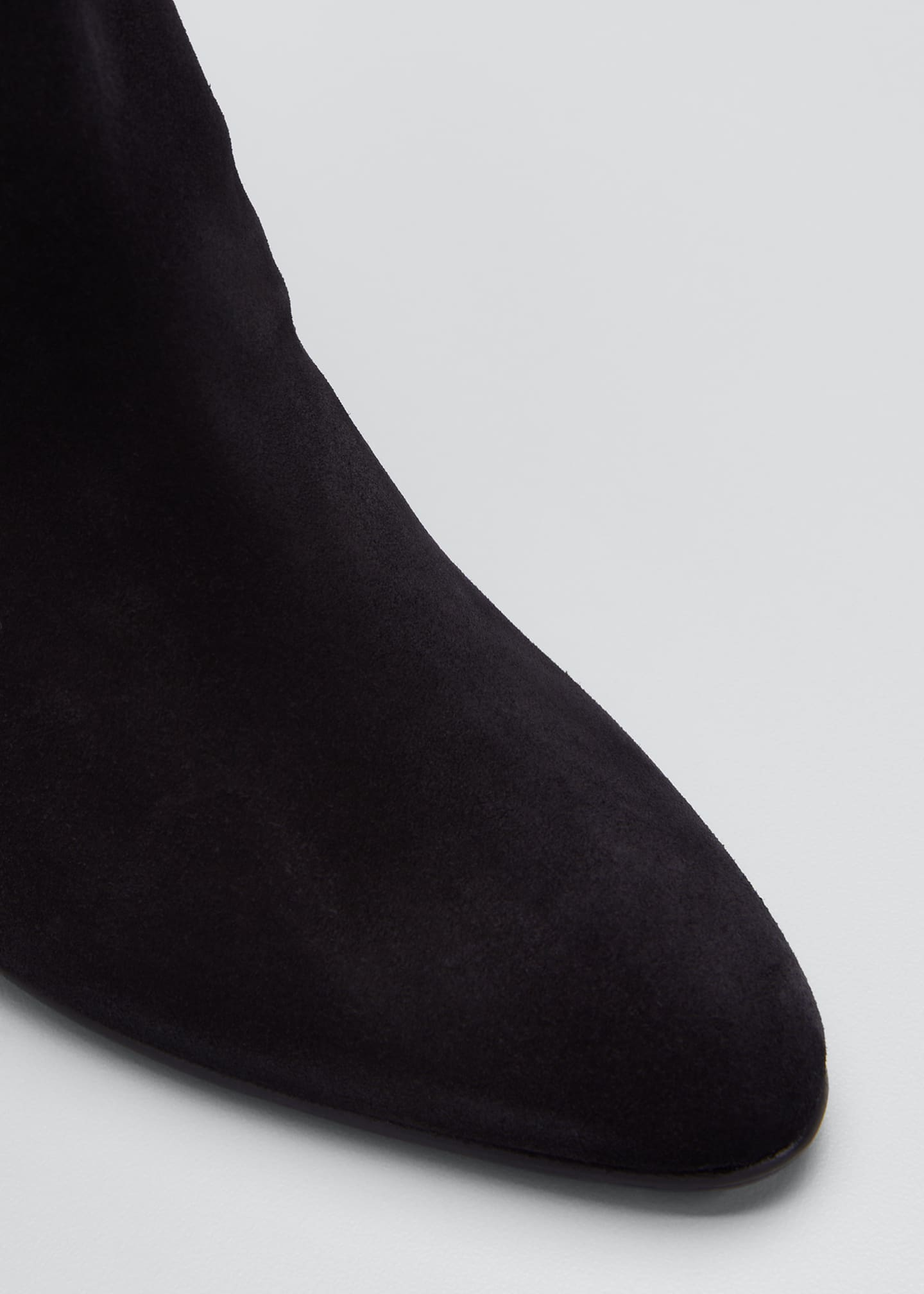 Image 3 of 3: Shushan 90mm Suede Scrunch Boots