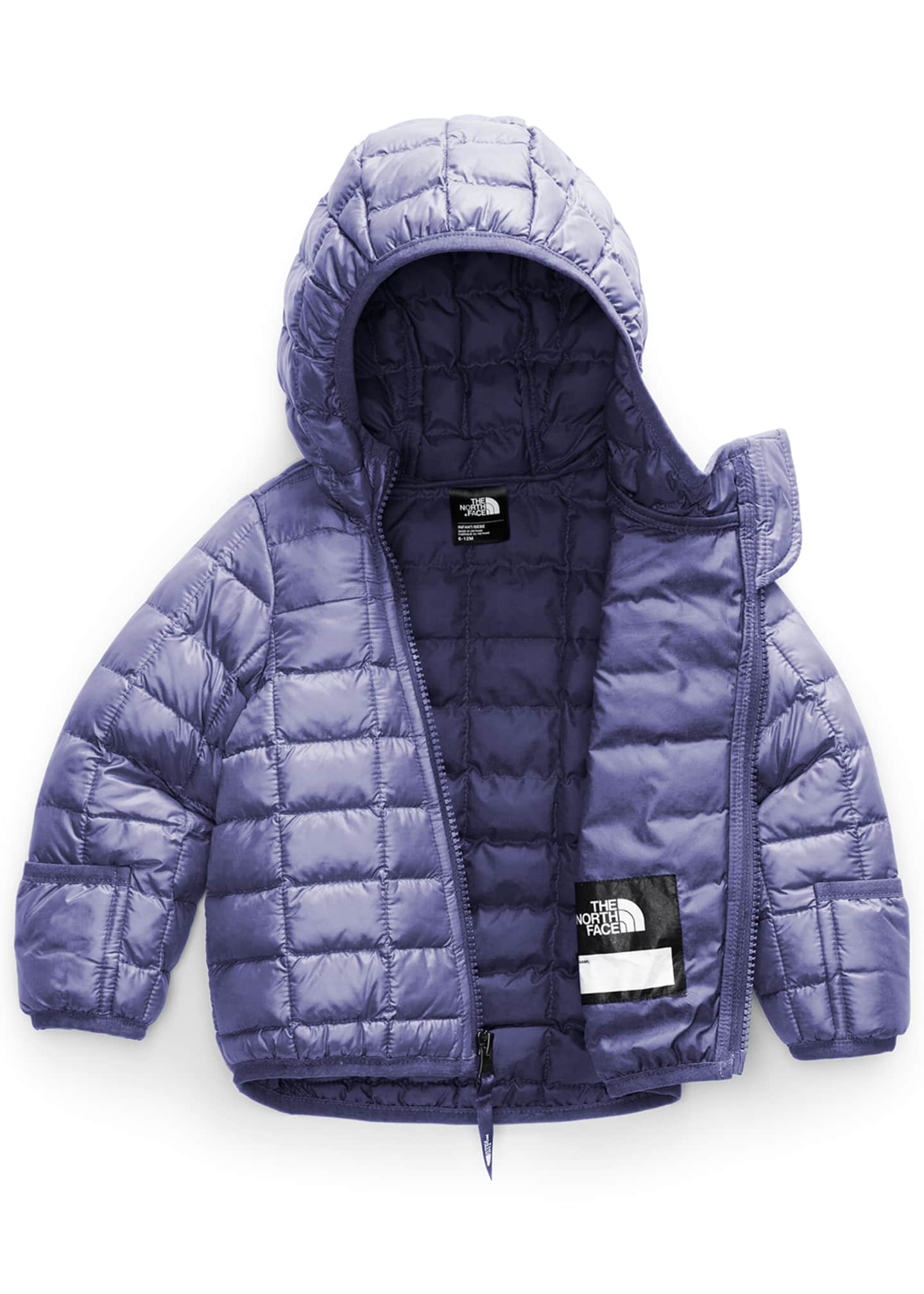 Image 2 of 2: Boy's Thermoball Eco Quilted Jacket, Size 6-24M