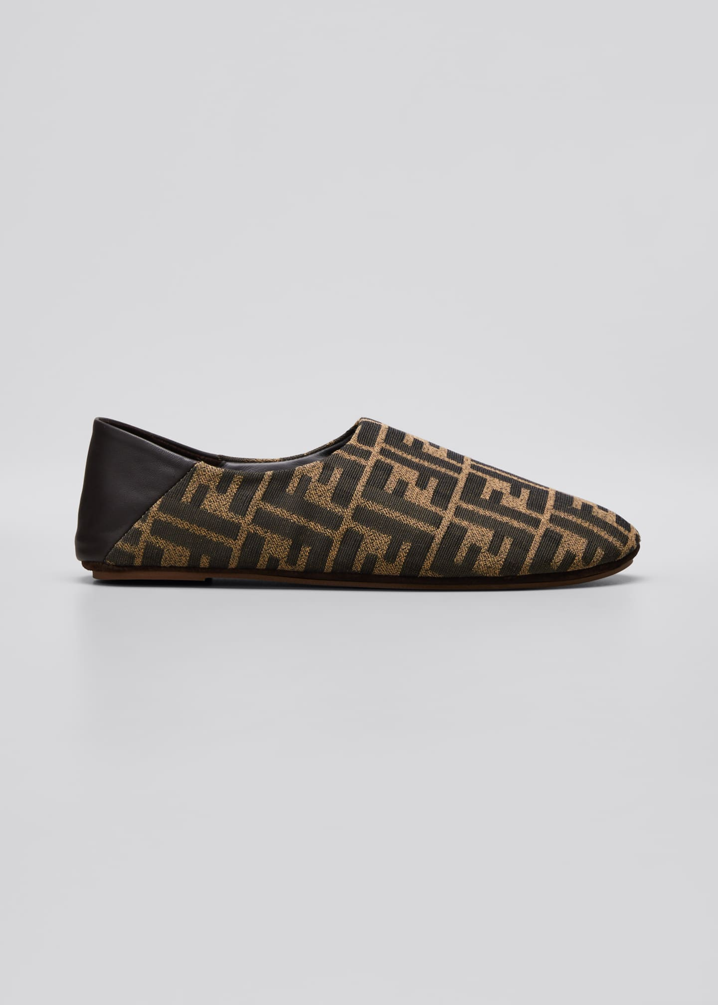 Image 1 of 3: FF Jacquard Holiday Slippers