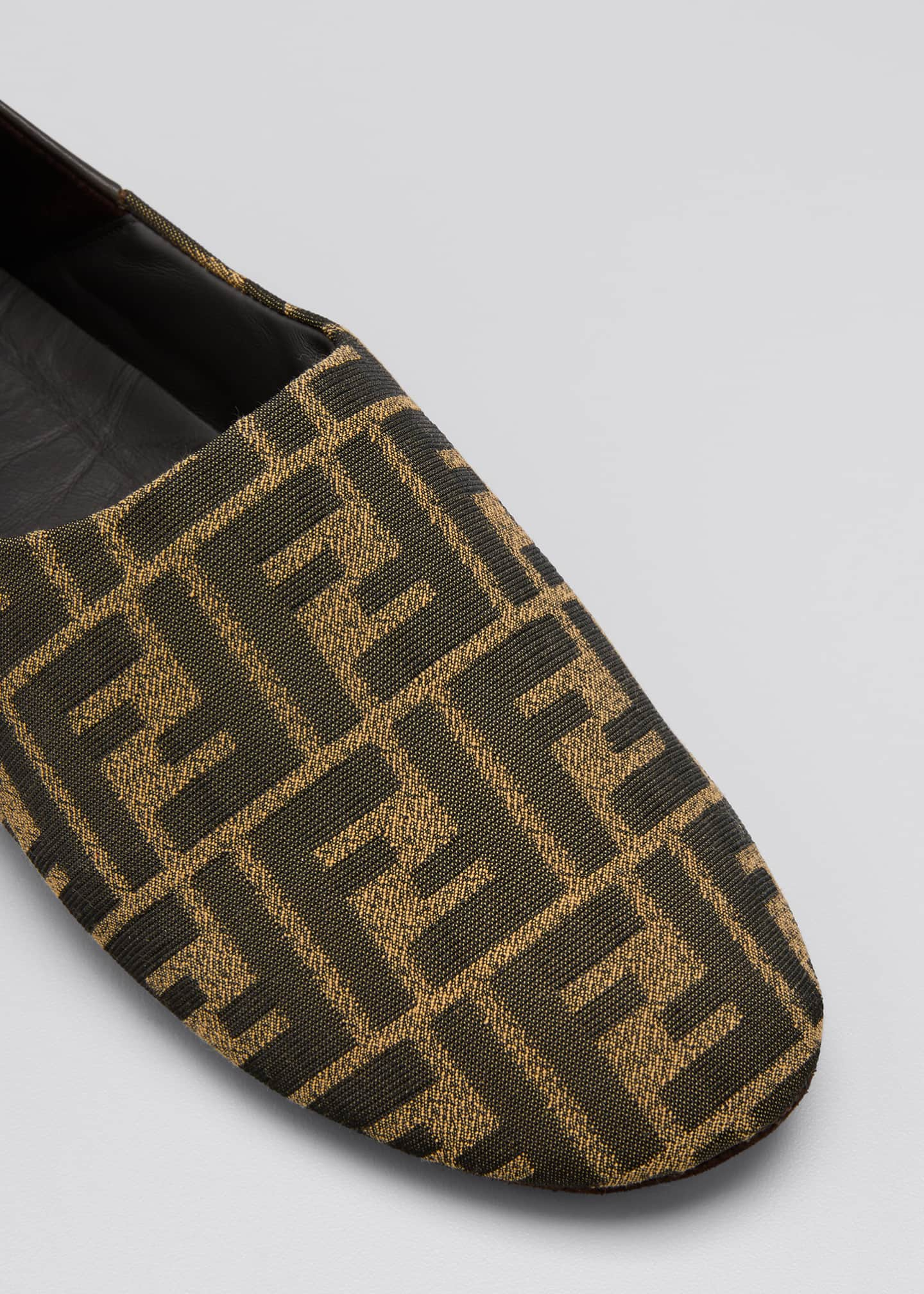 Image 3 of 3: FF Jacquard Holiday Slippers