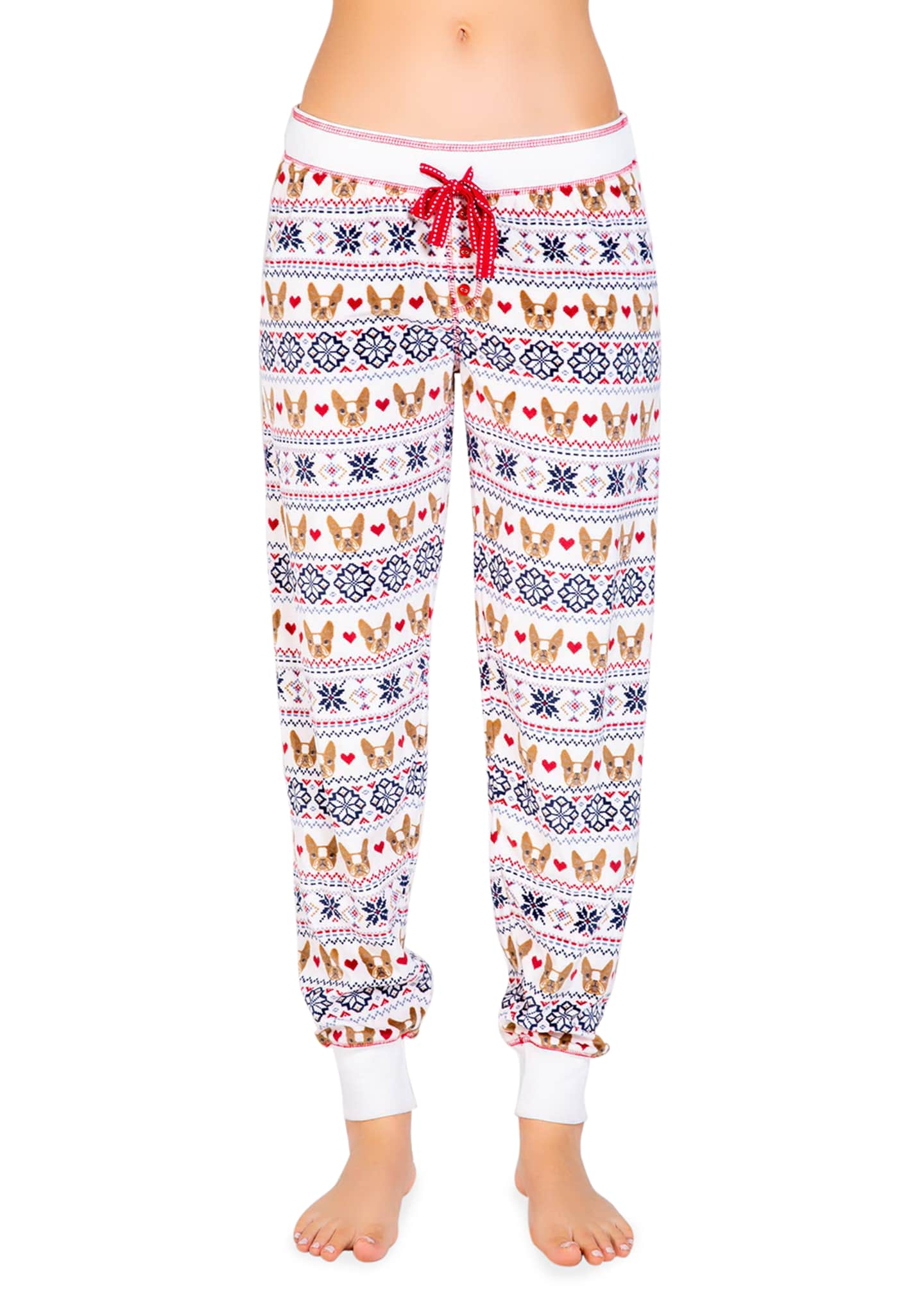 Image 2 of 2: Dog Mama Novelty Jogger Pants
