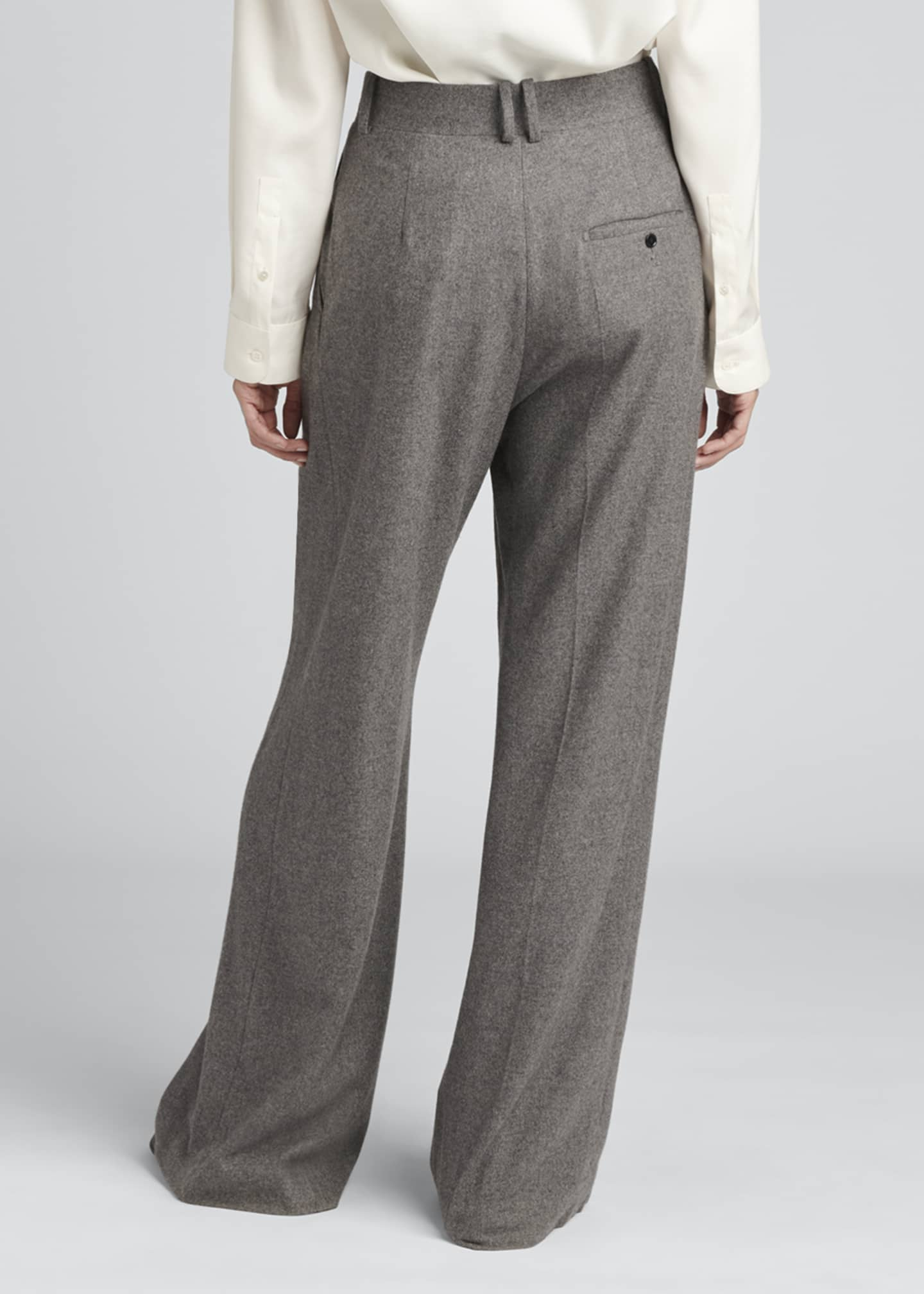 Image 2 of 3: Philly Pintuck Cashmere Pants