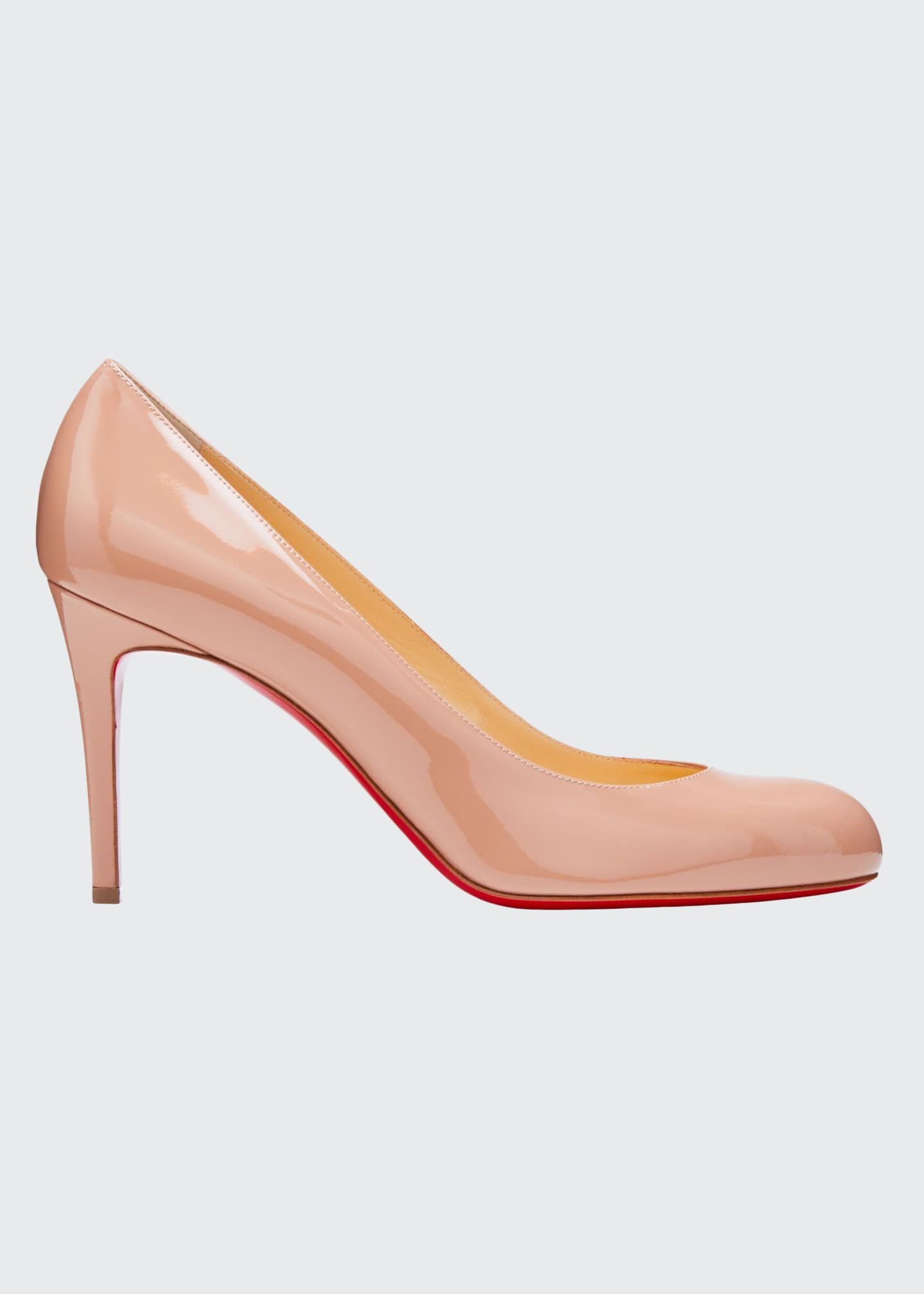 Christian Louboutin Simple Patent 85mm Red Sole Pump