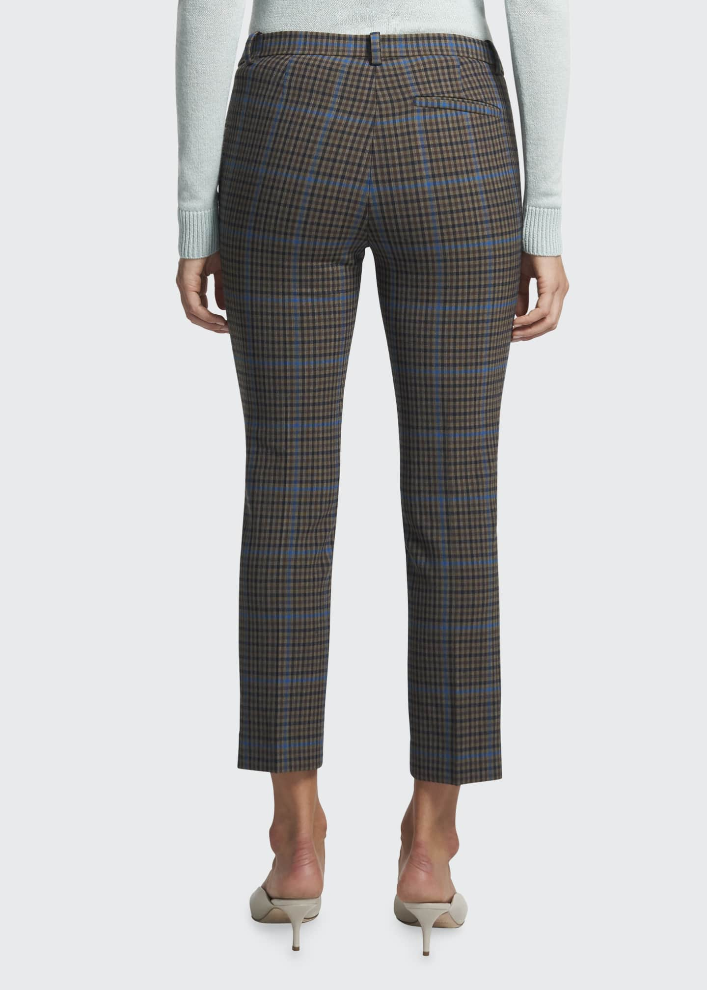 Image 2 of 4: Treeca Plaid Ankle Pants