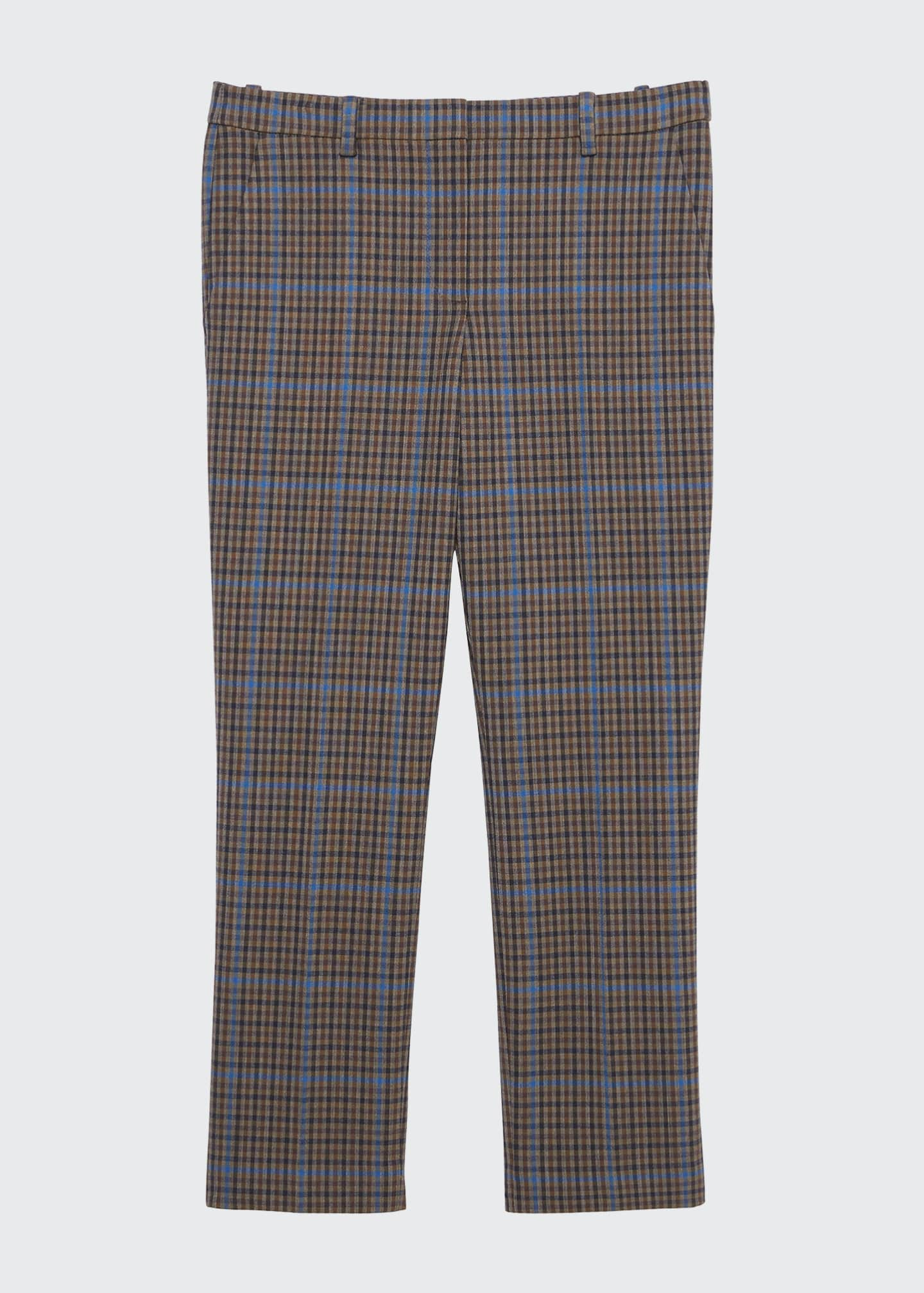 Image 4 of 4: Treeca Plaid Ankle Pants