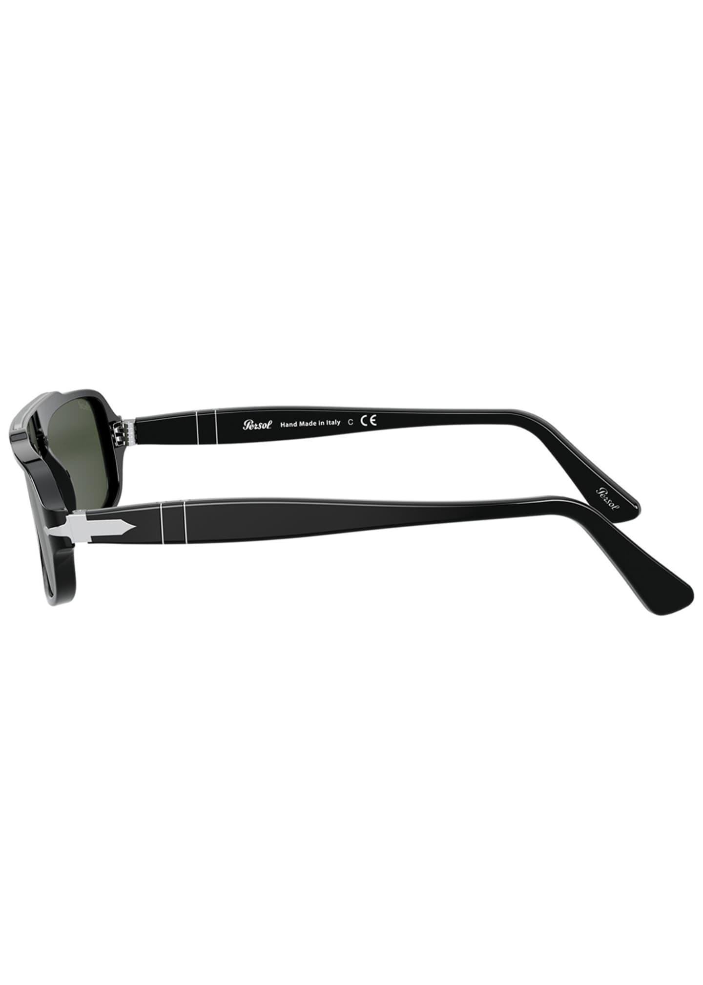 Image 3 of 4: Men's Rectangle Acetate Sunglasses
