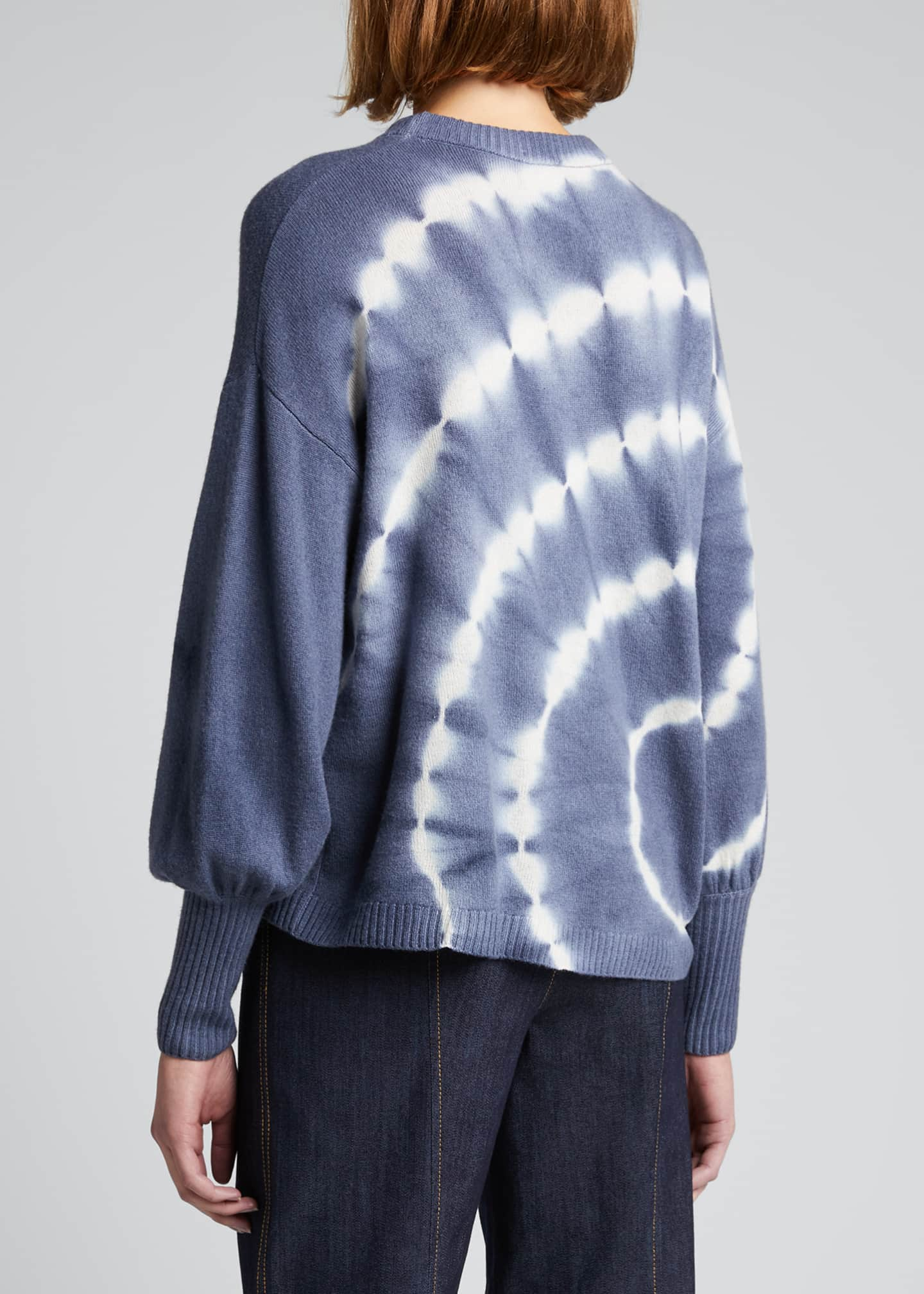 Image 2 of 5: Clerisa Tie-Dye Pullover Sweater