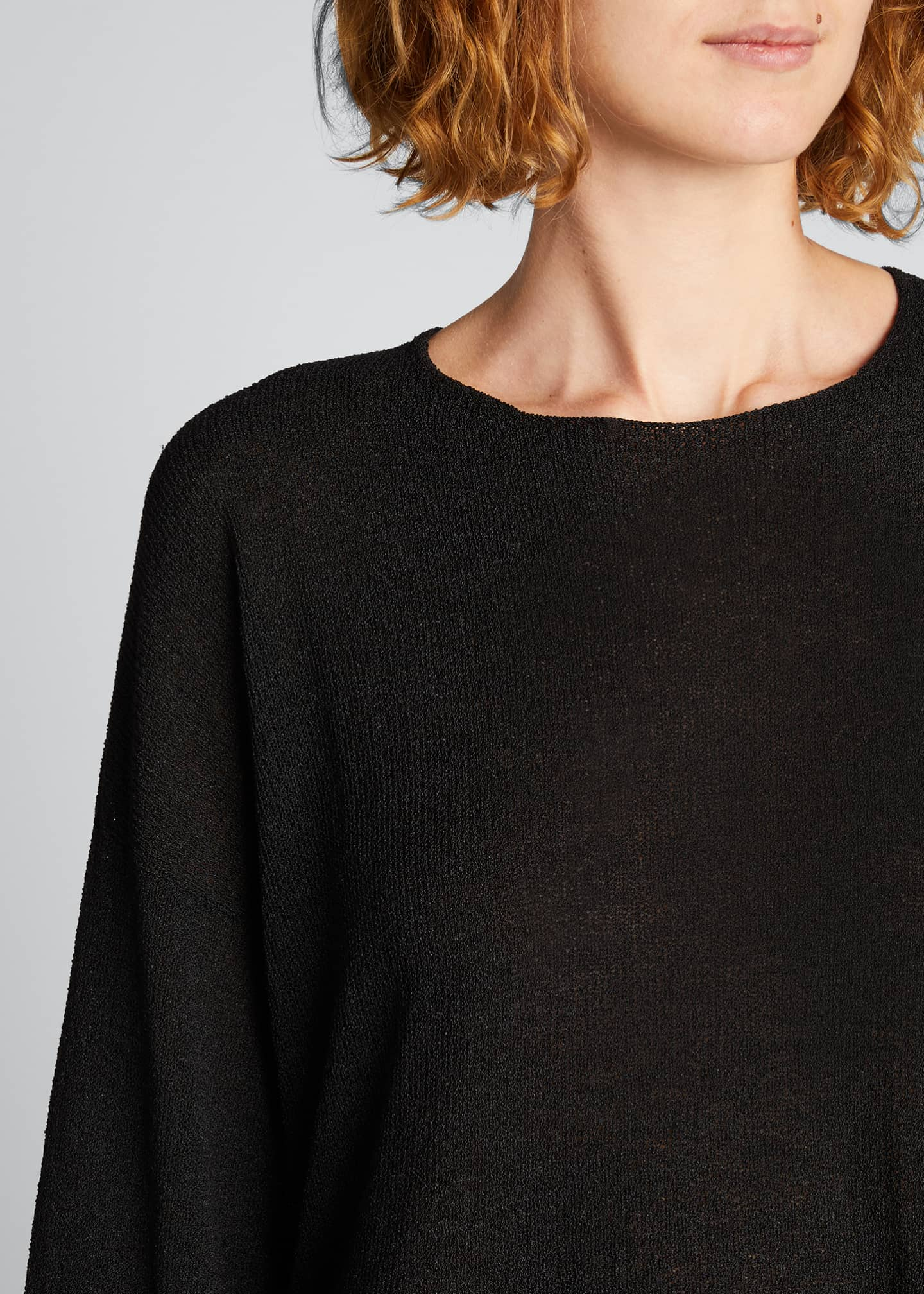 Image 4 of 5: Mid Silk-Blend Sweater