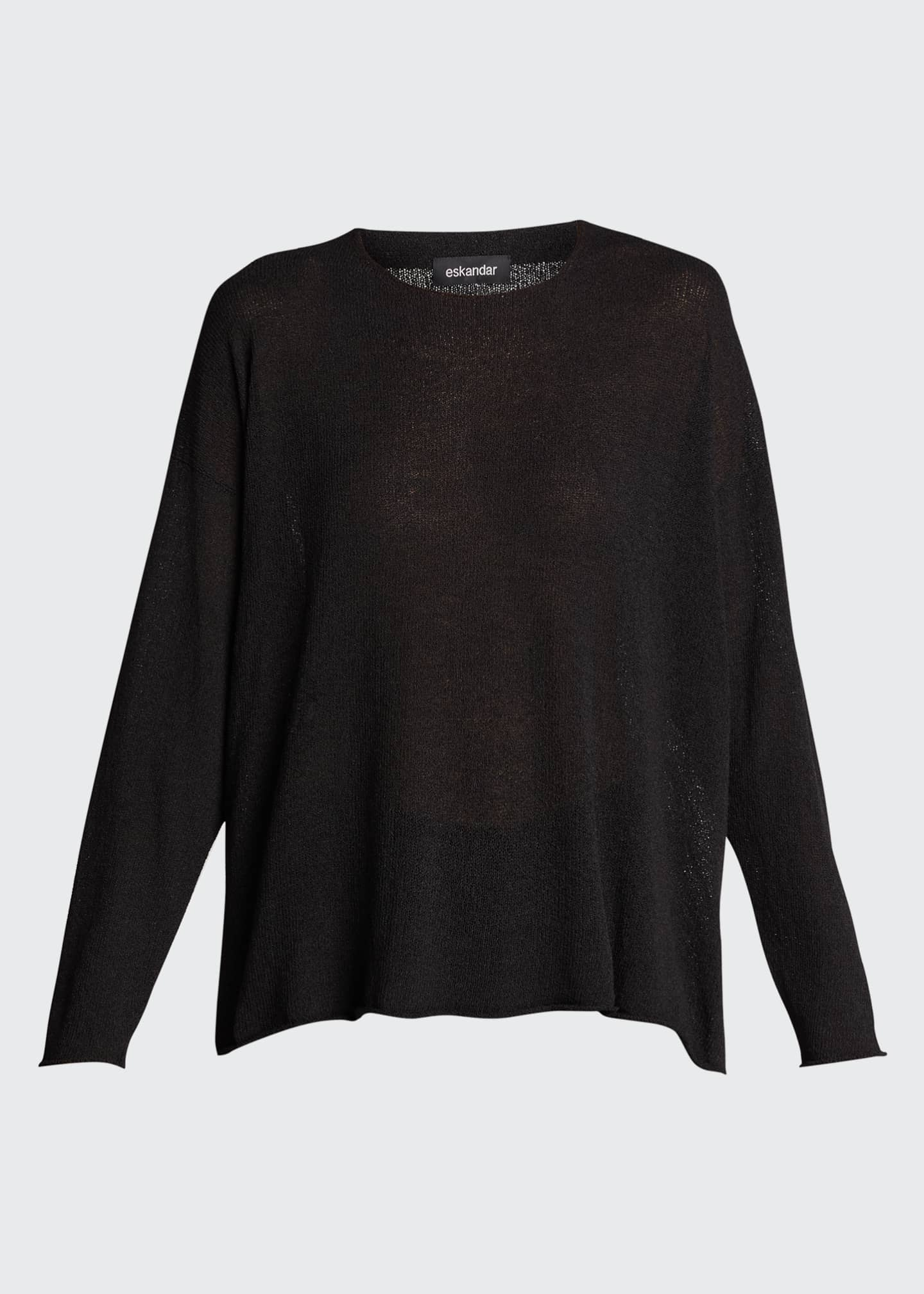 Image 5 of 5: Mid Silk-Blend Sweater