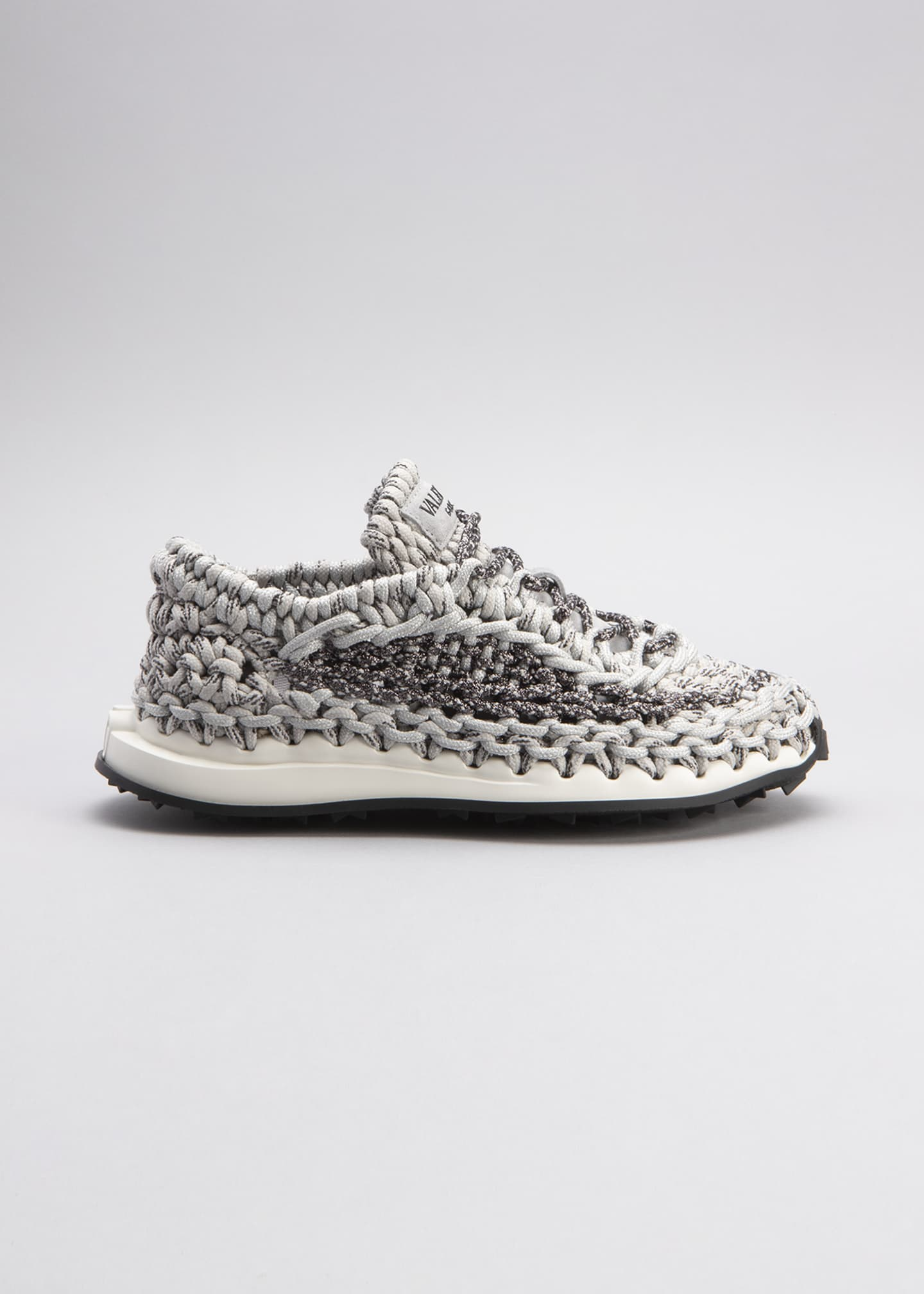 Image 1 of 3: Spiral Knot Trainer Sneakers