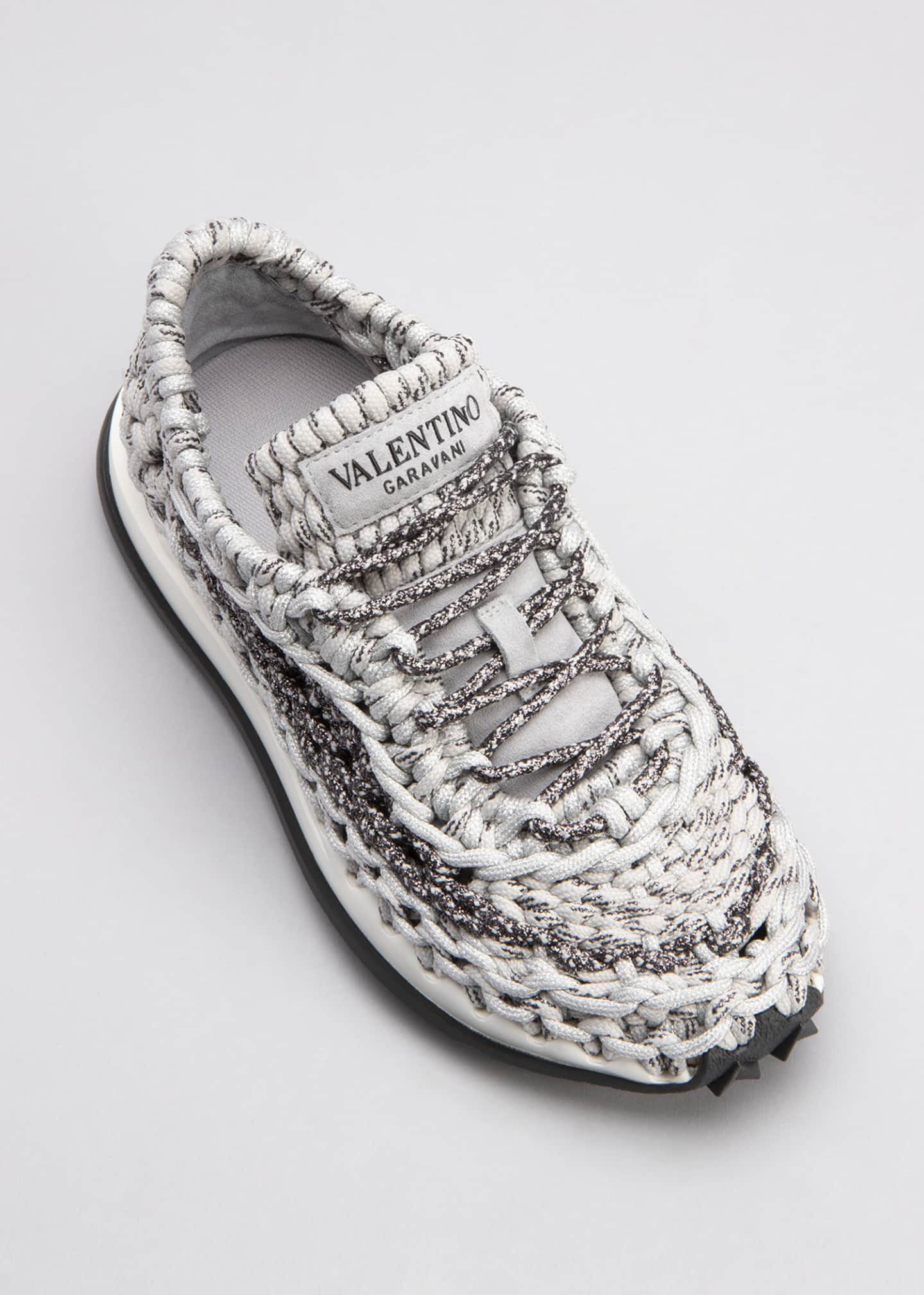 Image 3 of 3: Spiral Knot Trainer Sneakers
