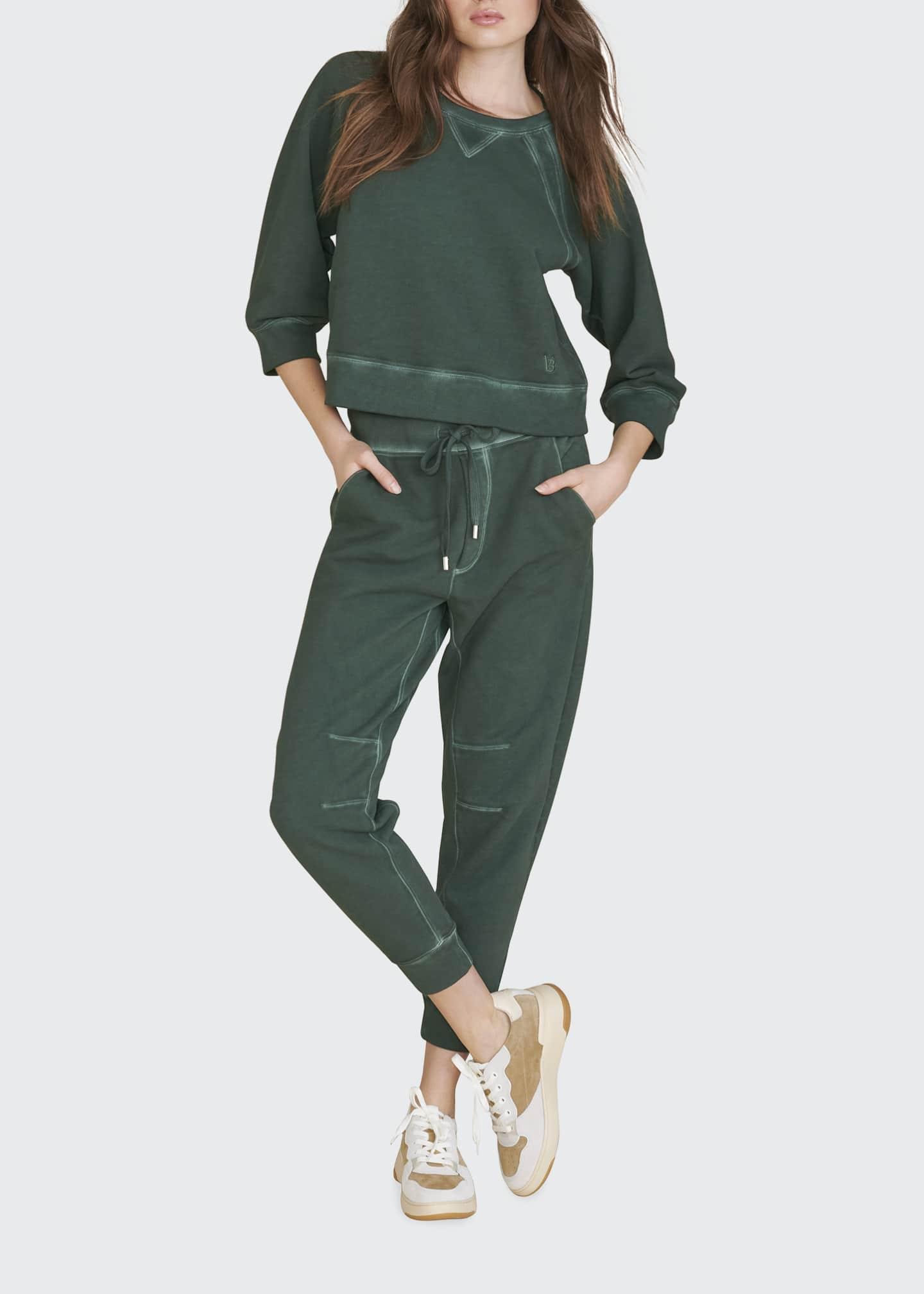 Image 1 of 3: Preslee Cotton Sweatpants
