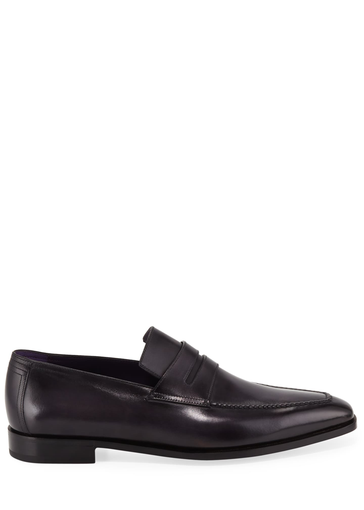 Image 3 of 3: Men's Andy Demesure Calf Leather Loafer