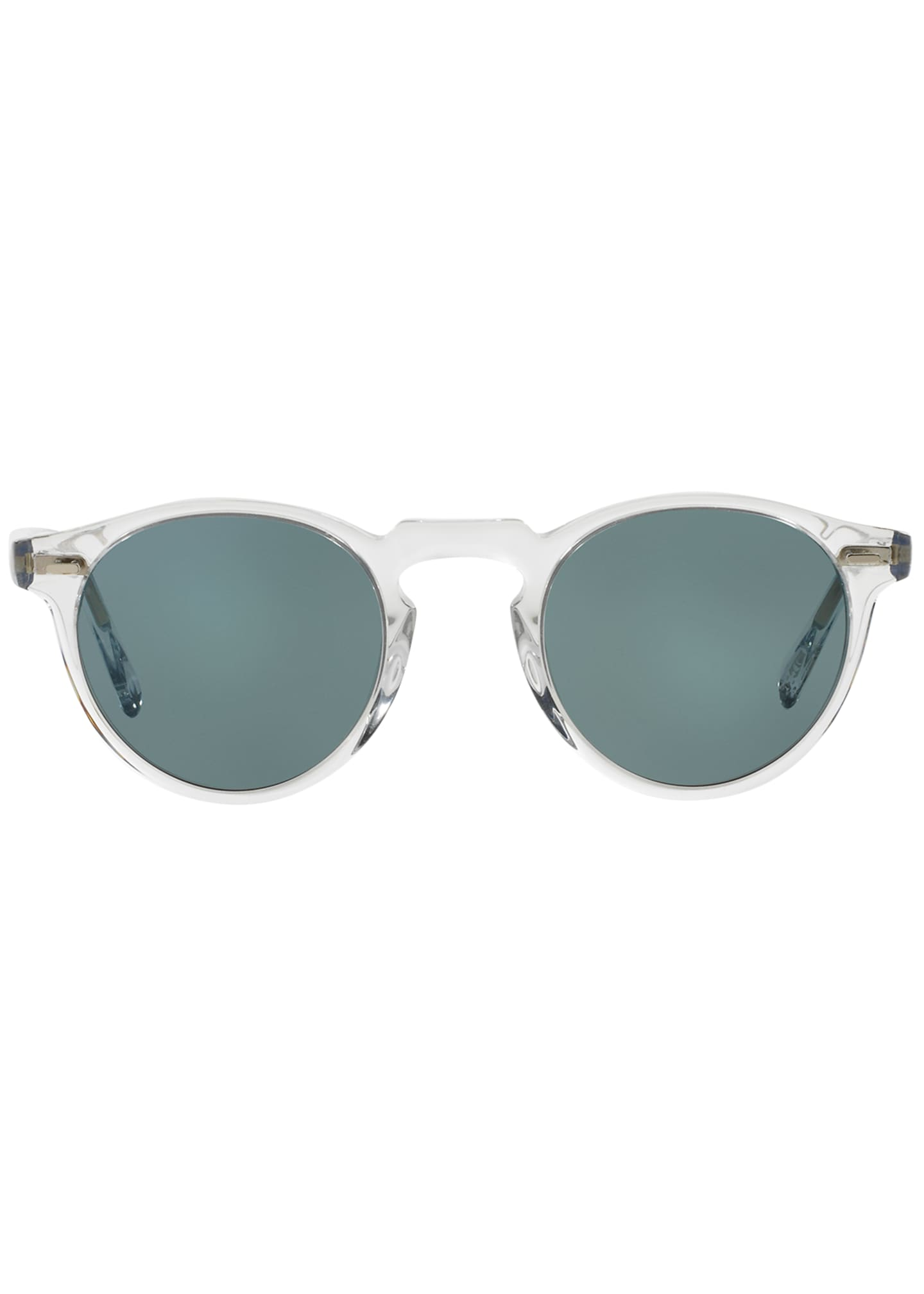 Image 2 of 2: Men's Gregory Peck 47 Round Sunglasses