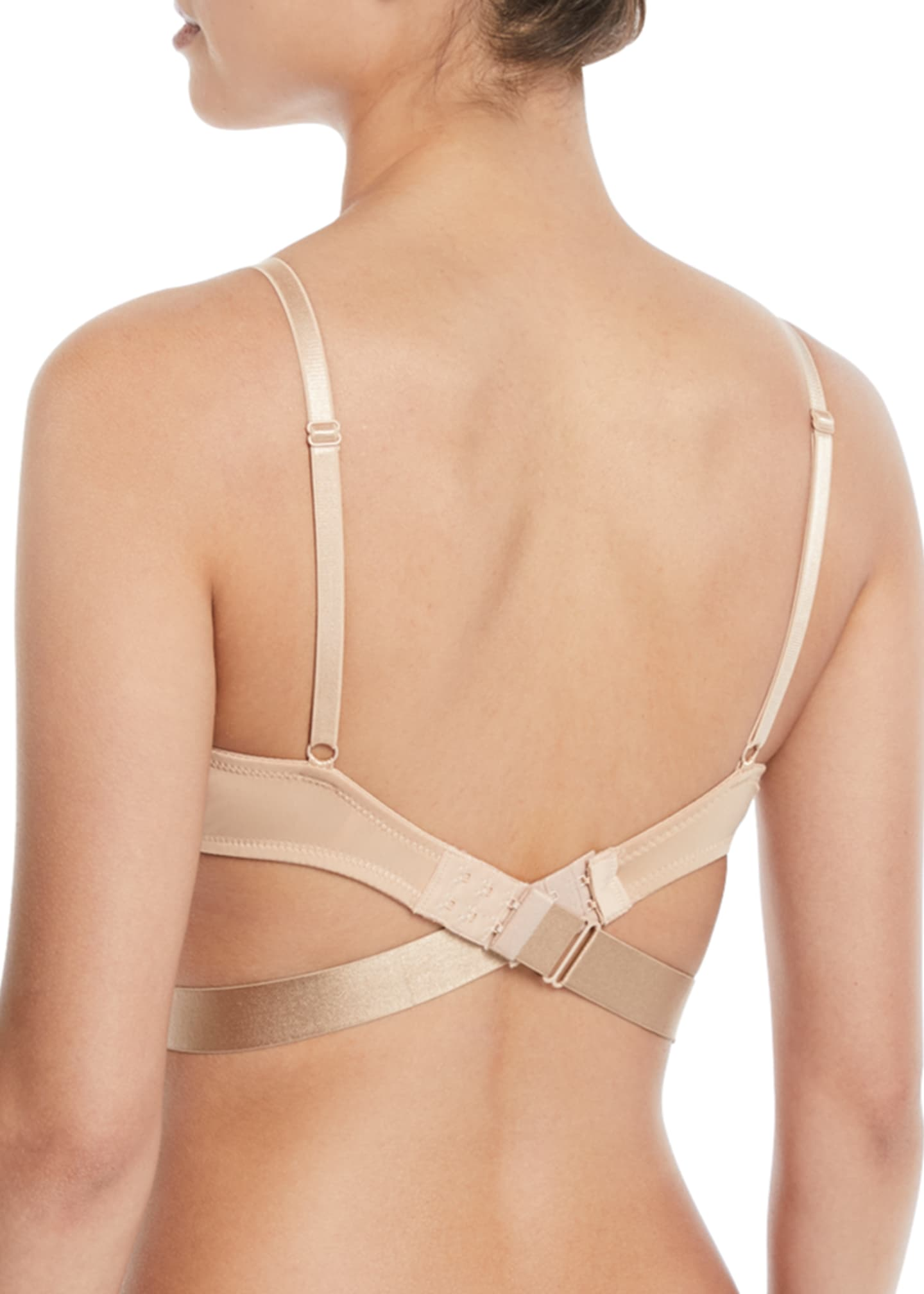 Image 2 of 2: Adjustable Low-Back Bra Strap