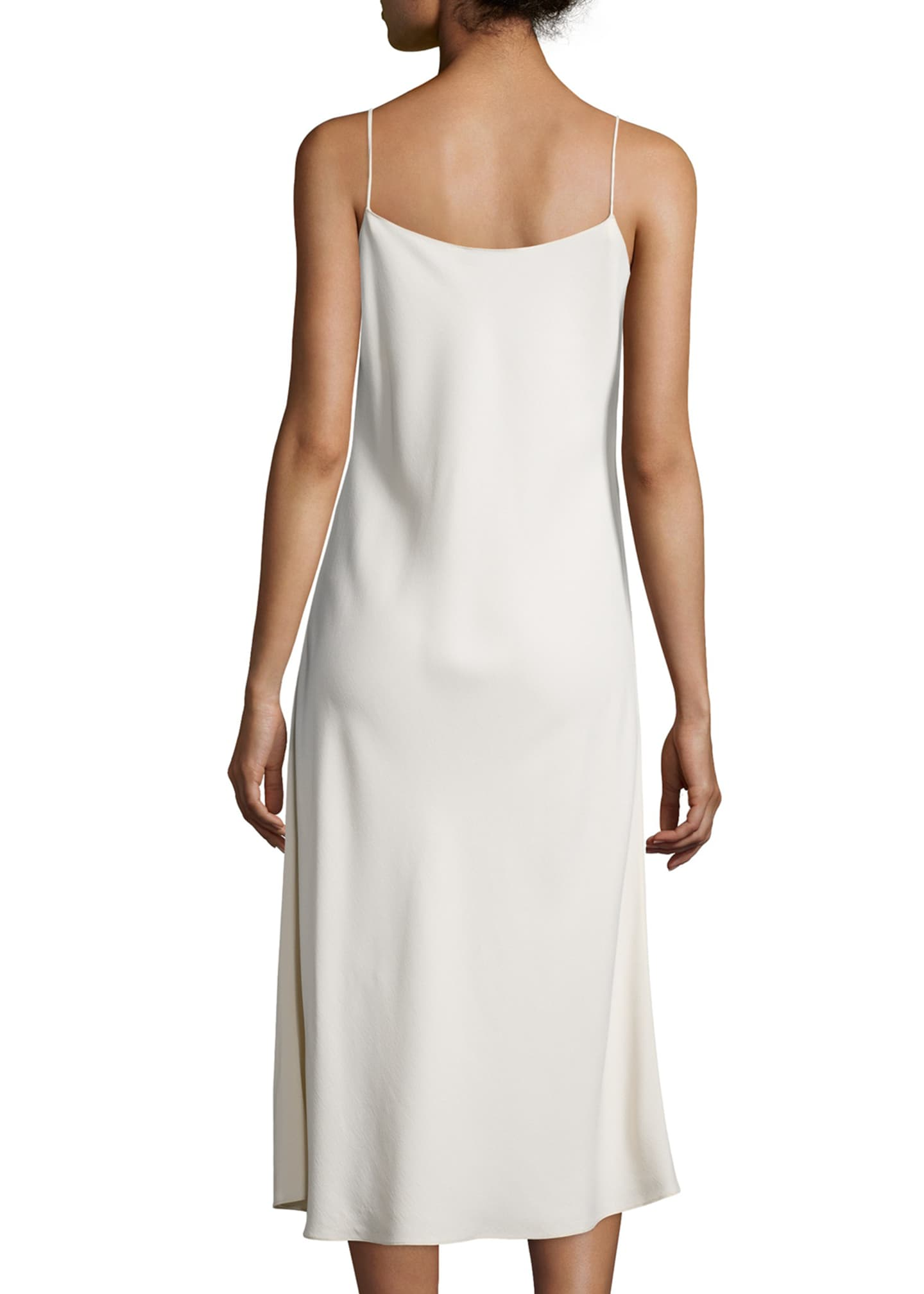 Image 2 of 2: Gibbons Sleeveless Bias-Cut Dress