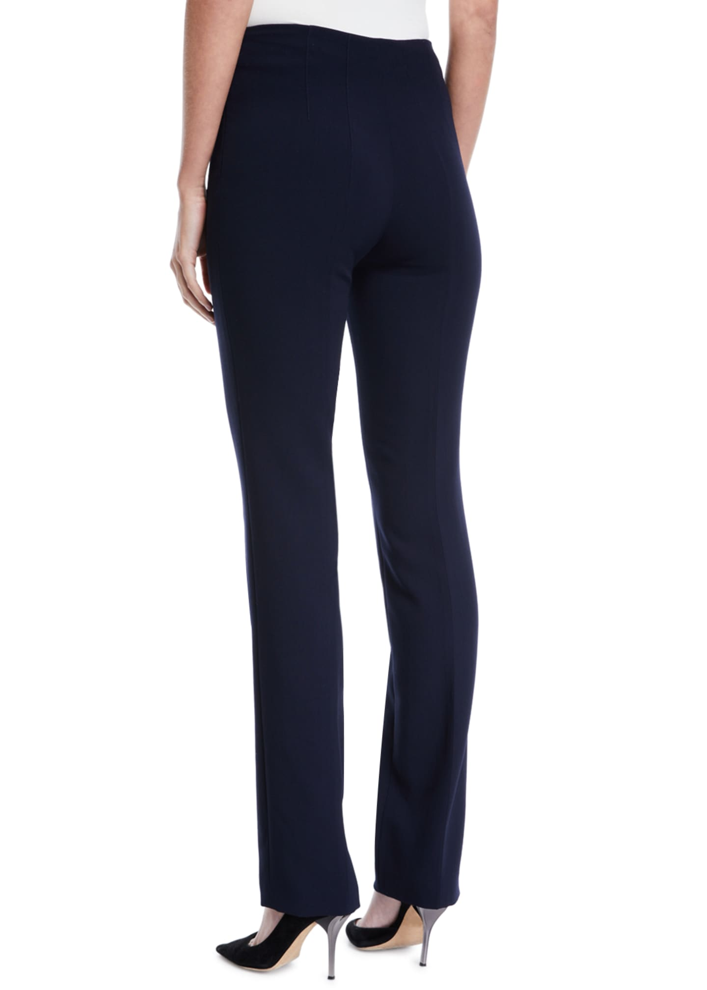 Image 2 of 3: Constance Double-Face Wool Pants