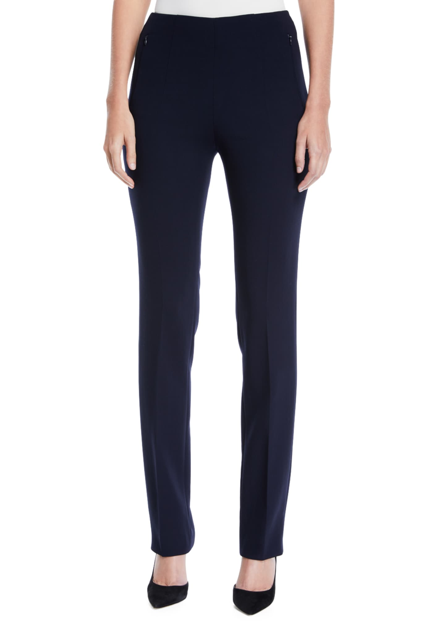 Image 1 of 3: Constance Double-Face Wool Pants