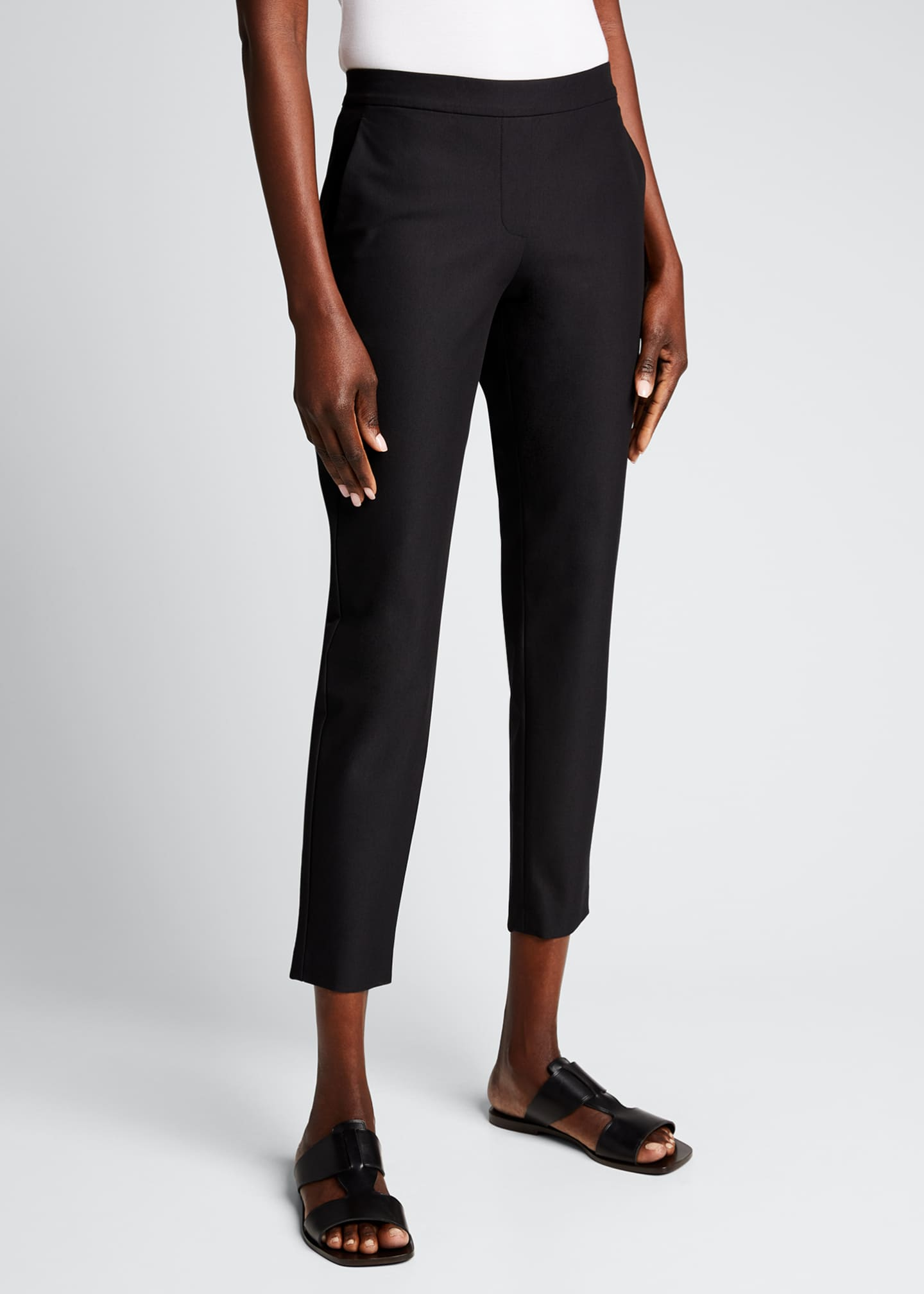 Image 3 of 4: Thaniel Approach Cropped Slim Pants, Black