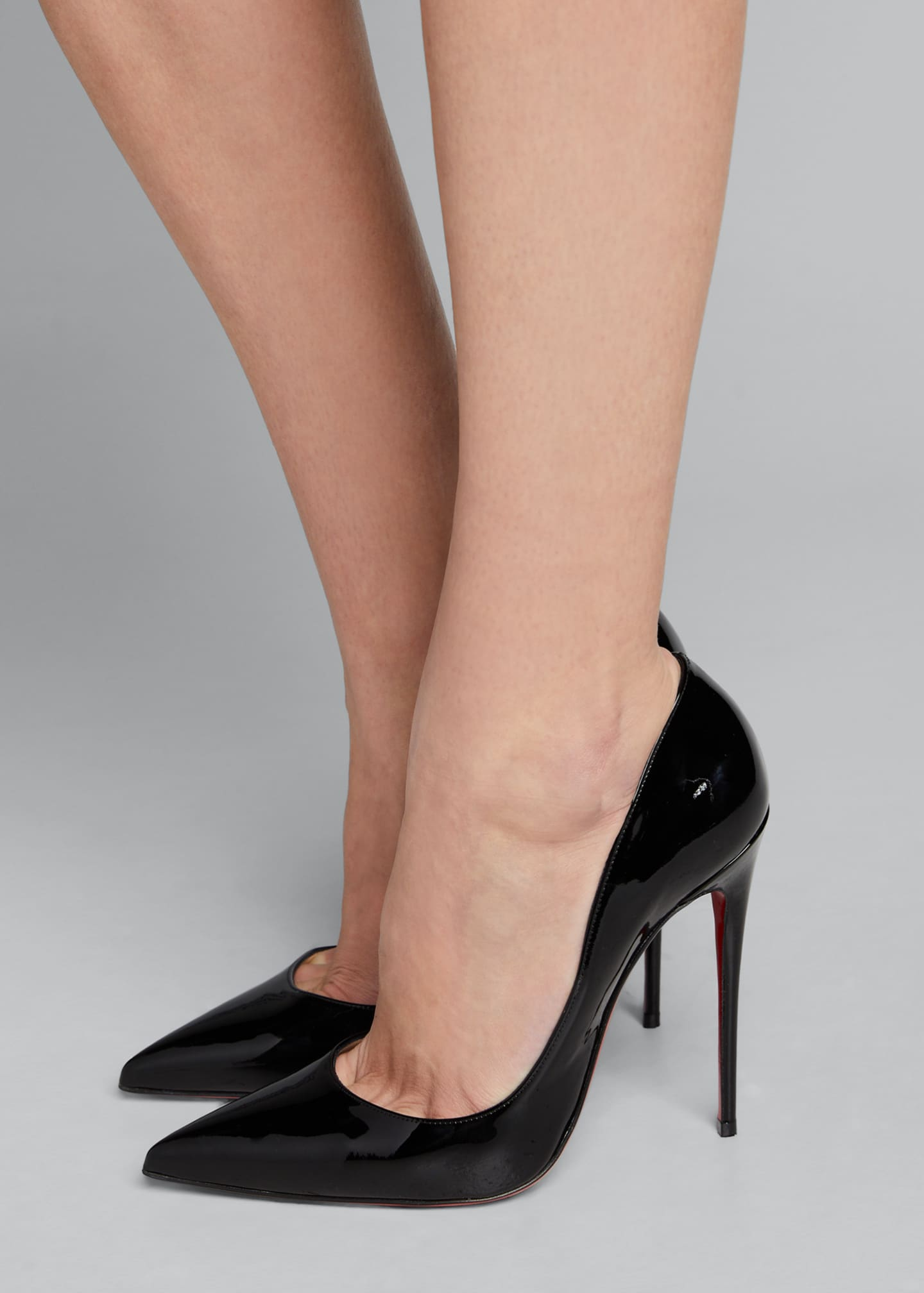 Image 2 of 5: So Kate Patent Red Sole Pumps