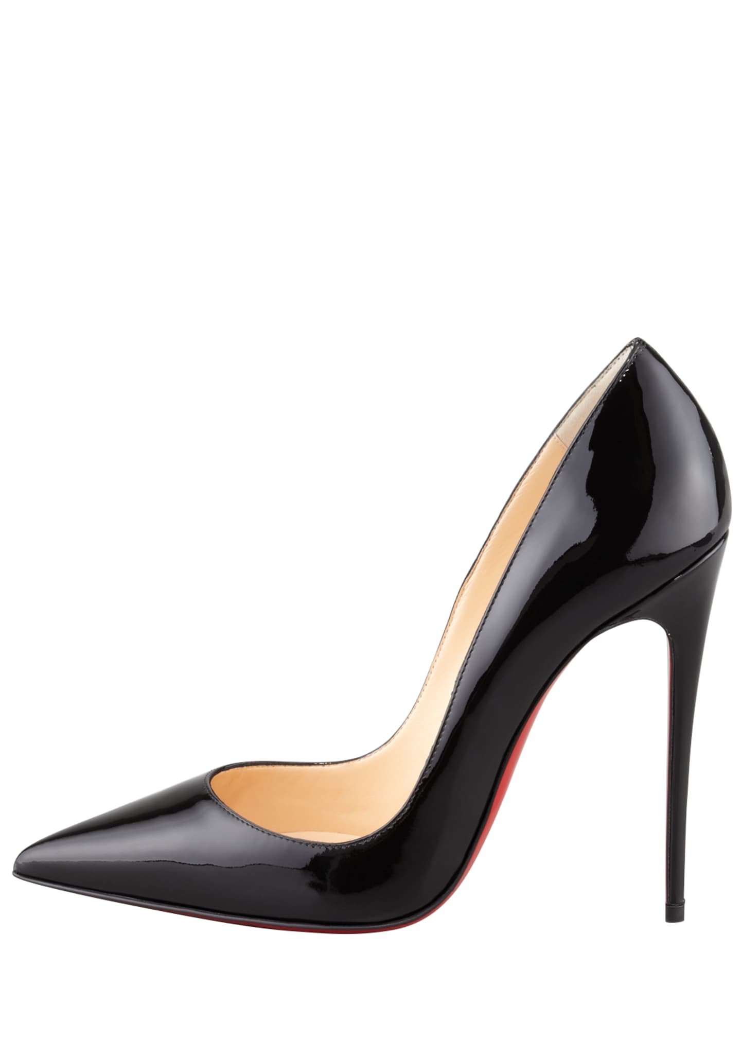 Image 2 of 5: So Kate Patent Leather Point-Toe Pumps, Black