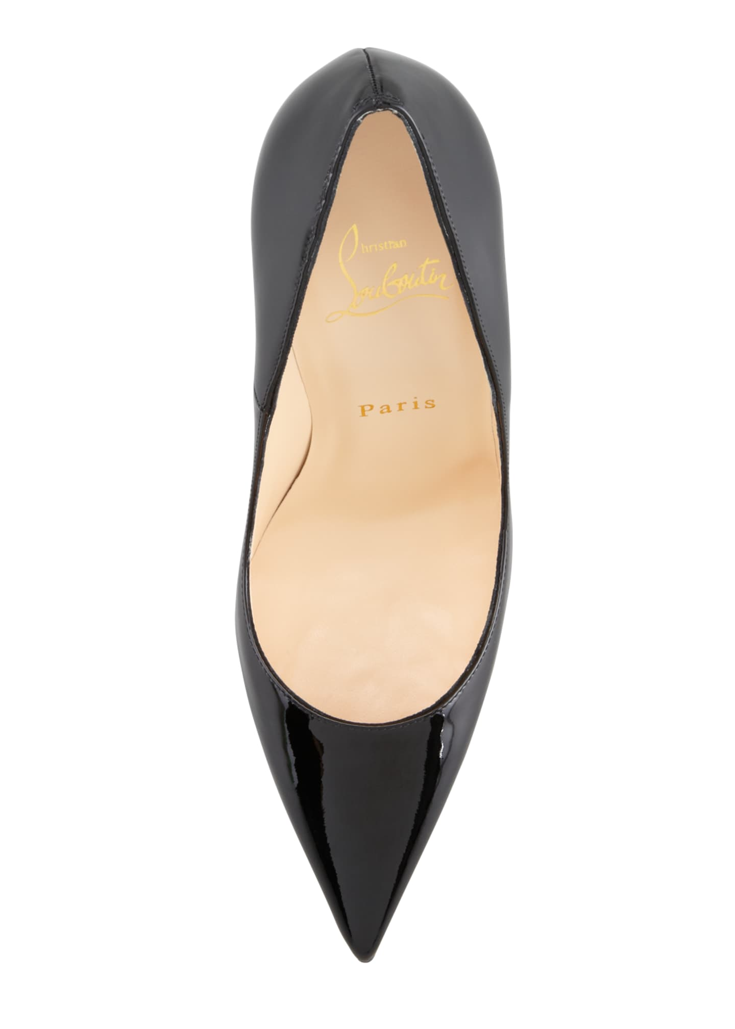 Image 3 of 5: So Kate Patent Leather Point-Toe Pumps, Black