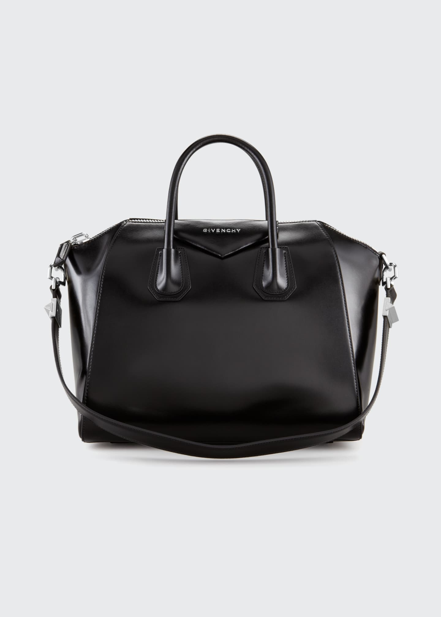 Givenchy Antigona Medium Box Calf Leather Satchel Bag