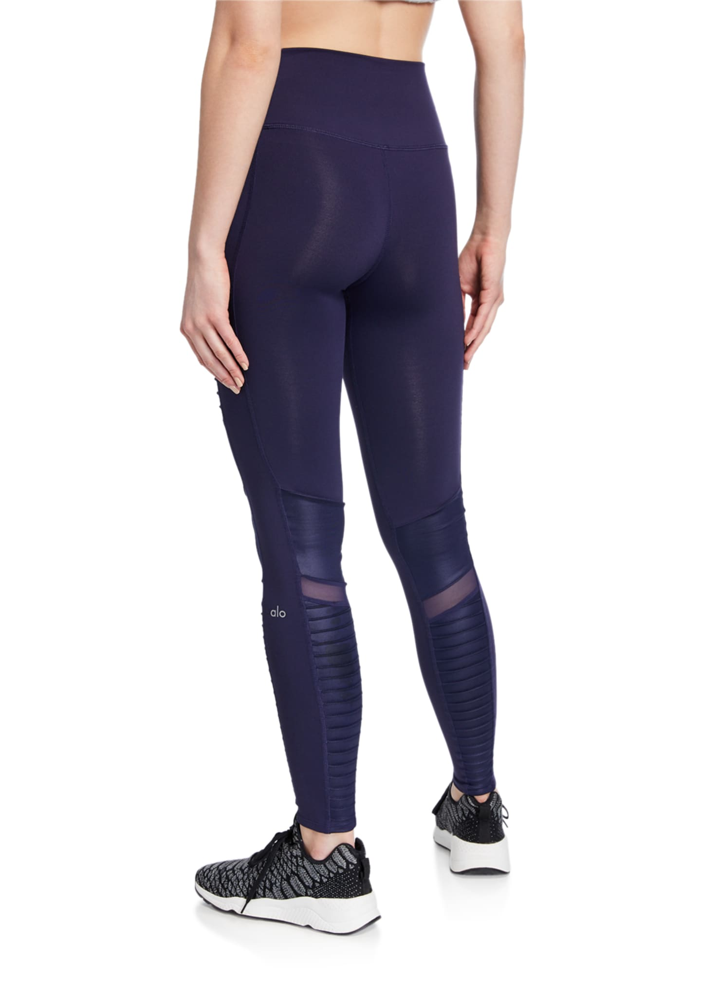 Image 2 of 3: Moto High-Waist Sport Leggings