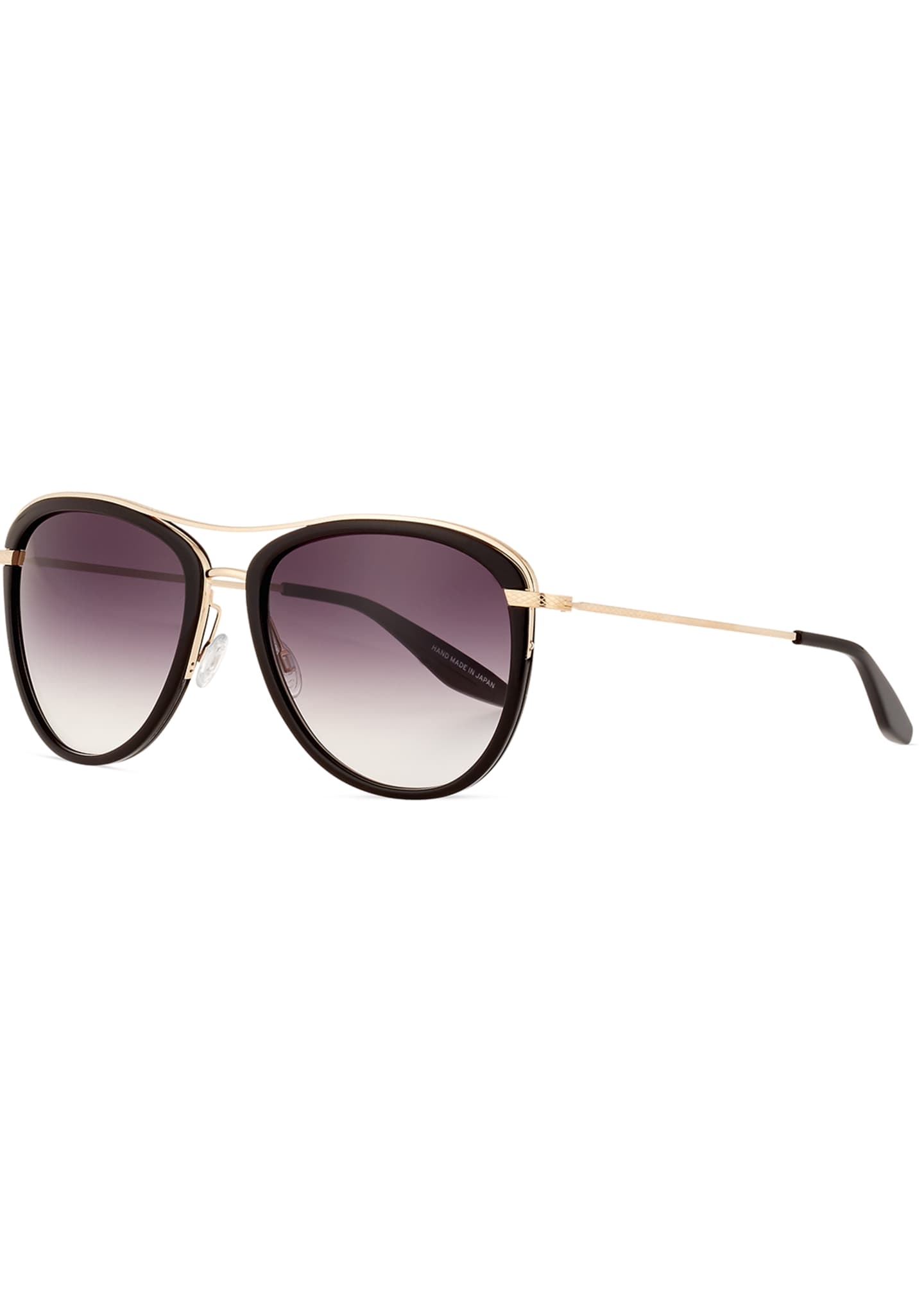 Barton Perreira Aviatress Universal-Fit Aviator Sunglasses