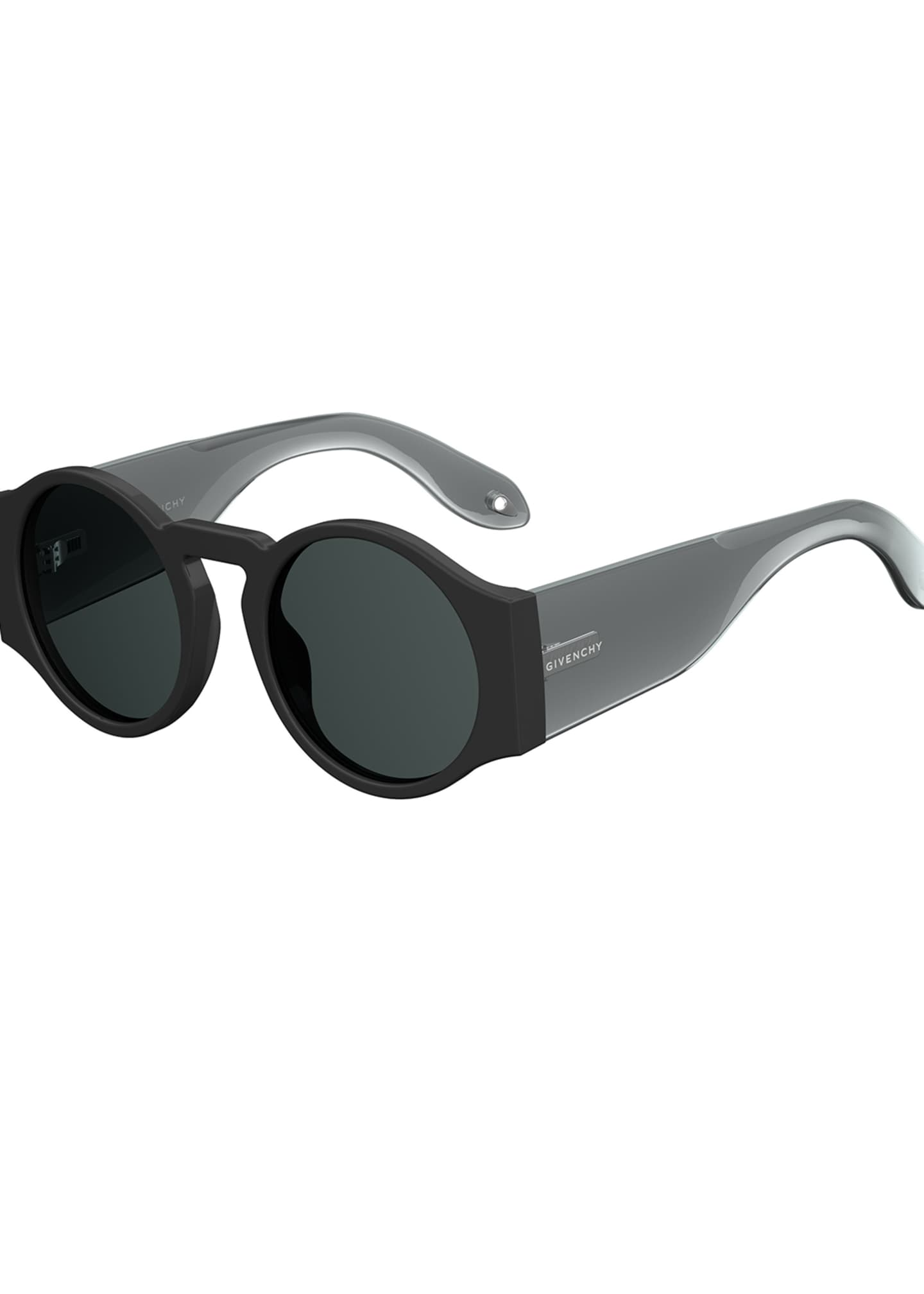 Givenchy Round Wrap-Style Sunglasses