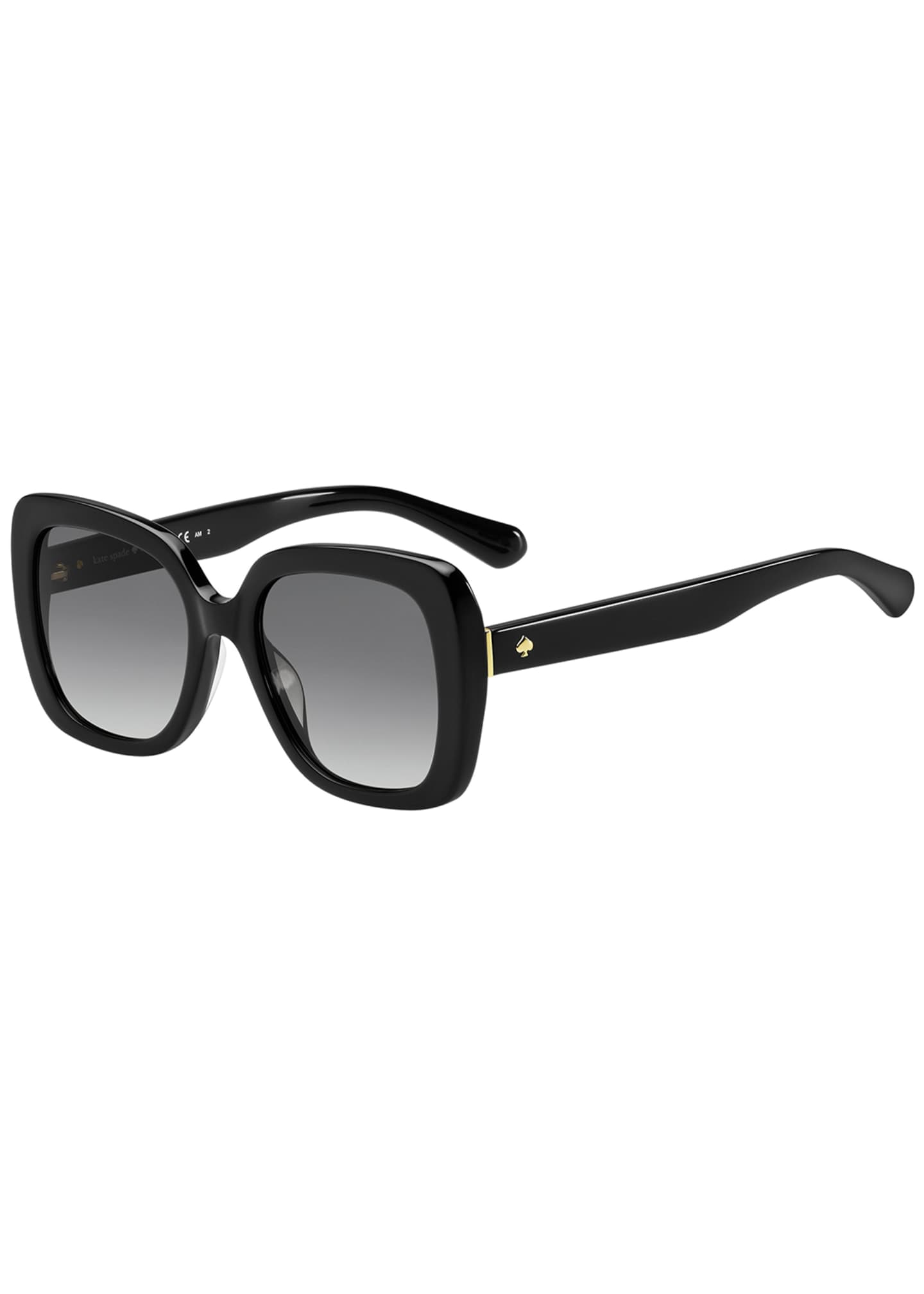 kate spade new york krystalyn square acetate sunglasses