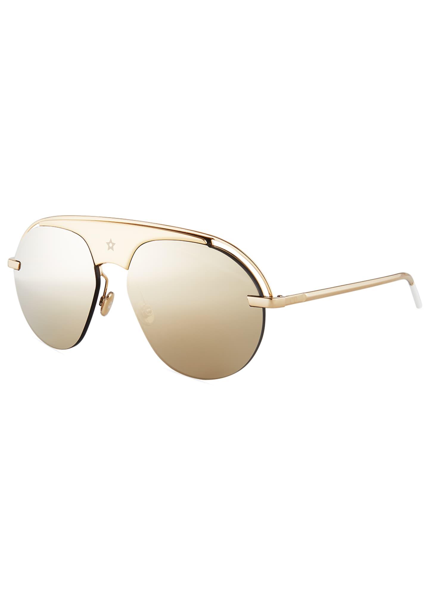 Dior Dio(R)evolution Mirrored Aviator Sunglasses