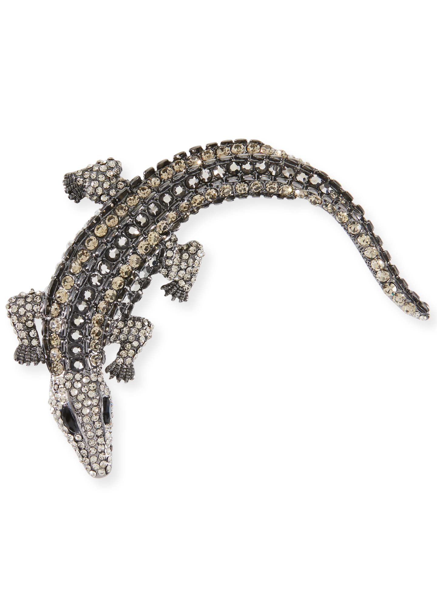 Exclusively Bergdorf Goodman Embellished Alligator Hair Pin