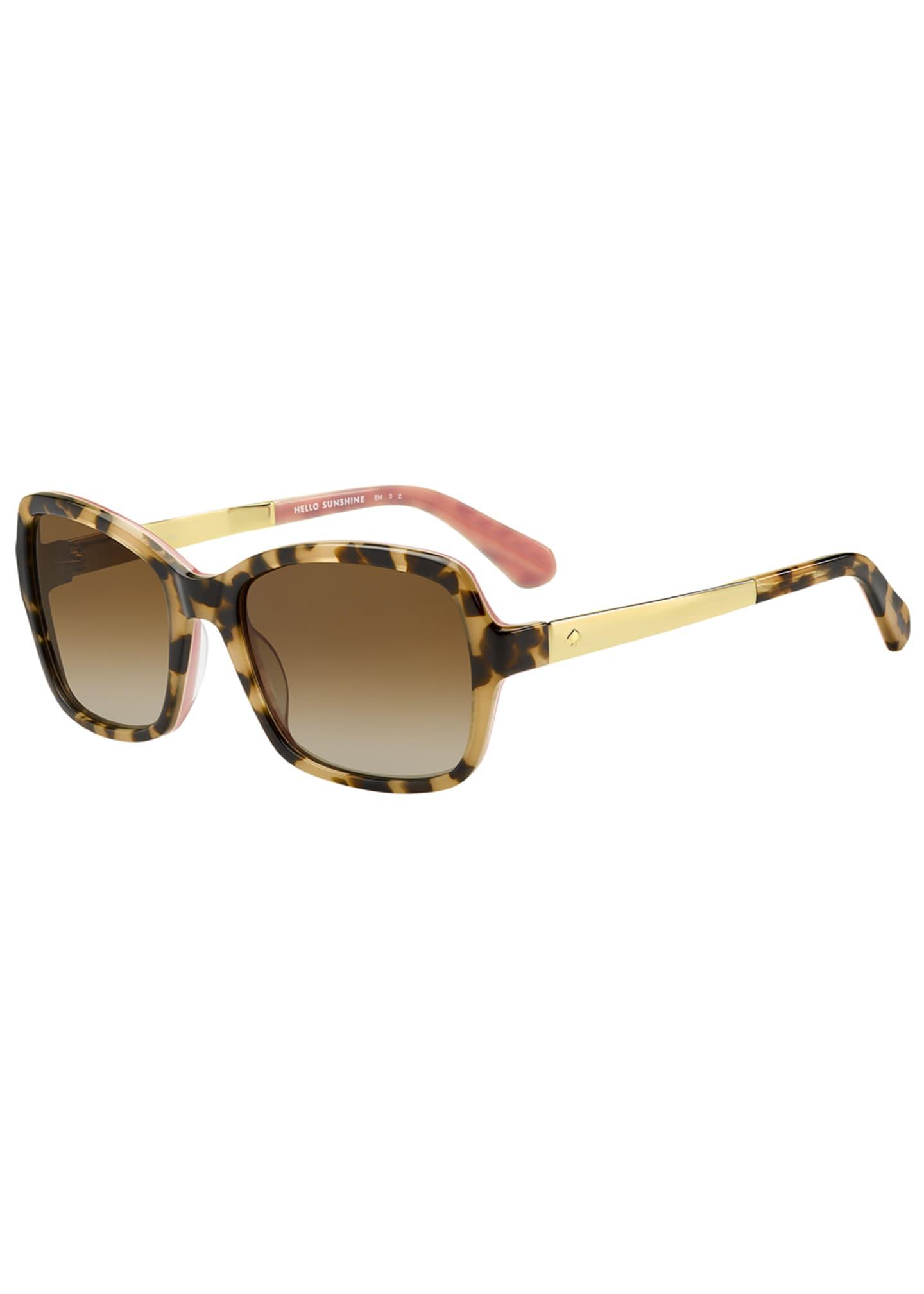 kate spade new york annjanette square sunglasses
