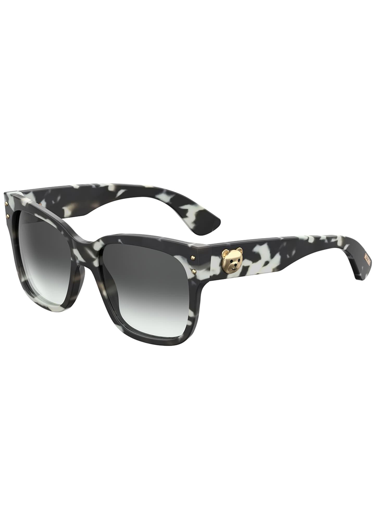 Moschino Square Gradient Sunglasses