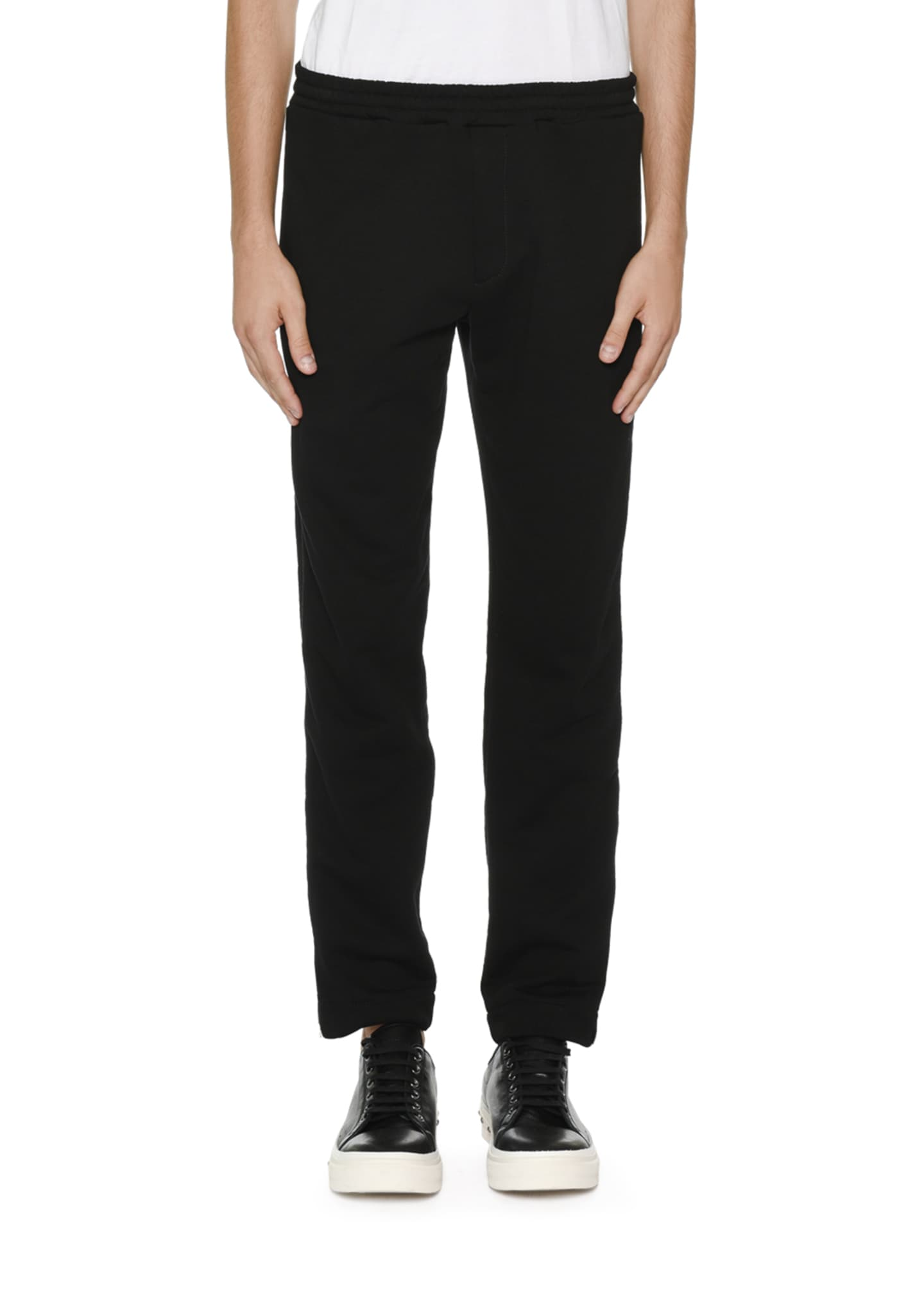 Alexander McQueen Tuxedo Pants w/ Wide Satin Stripes
