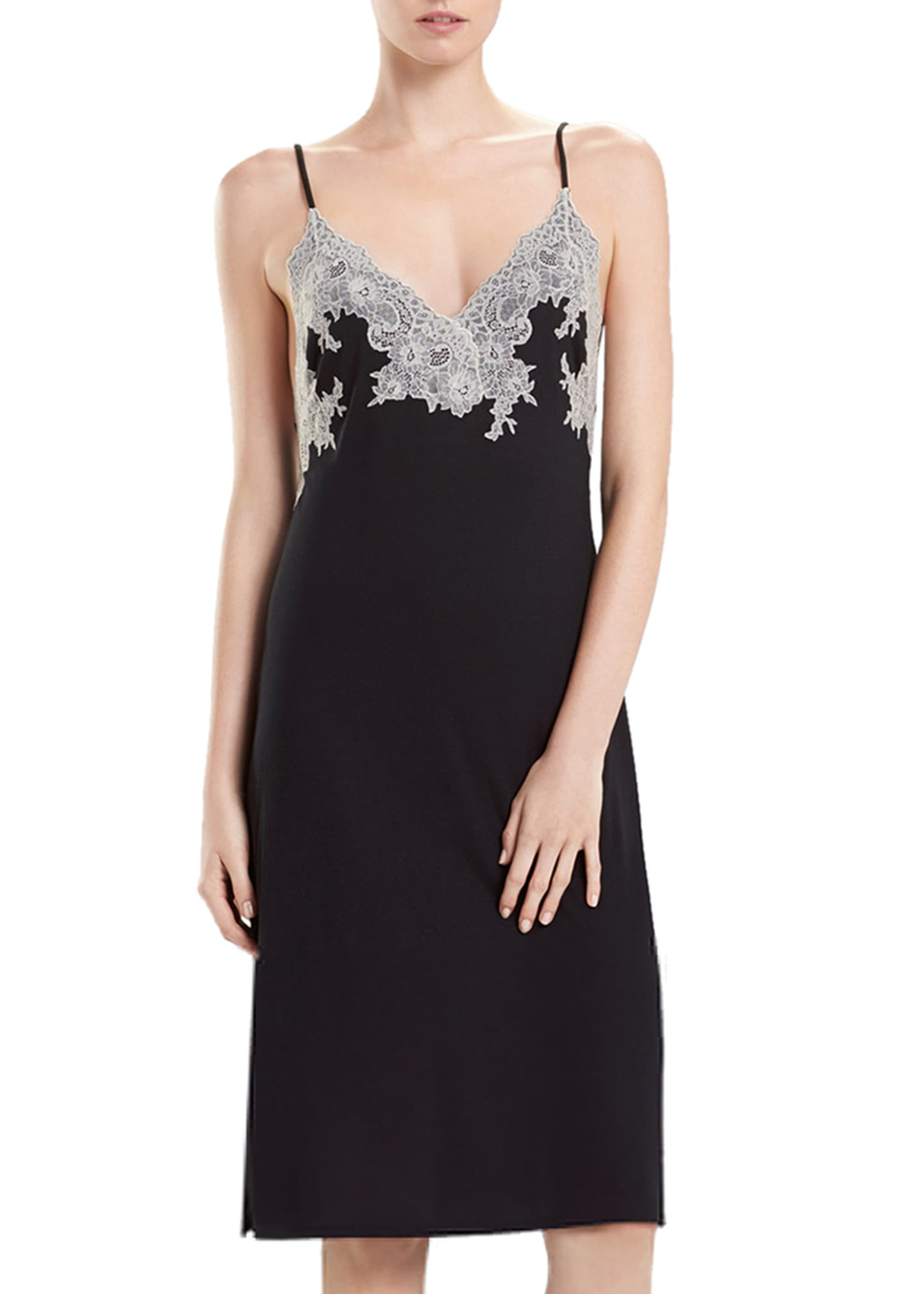 Image 1 of 2: Luxe Shangri-La Nightgown