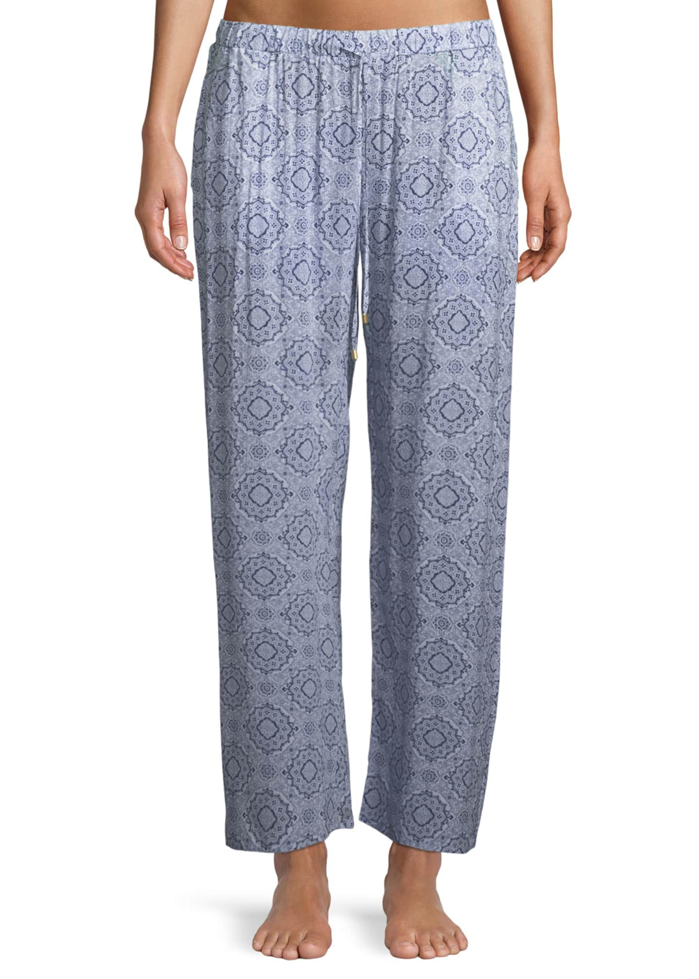 Hanro Medallion Pattern Lounge Pants