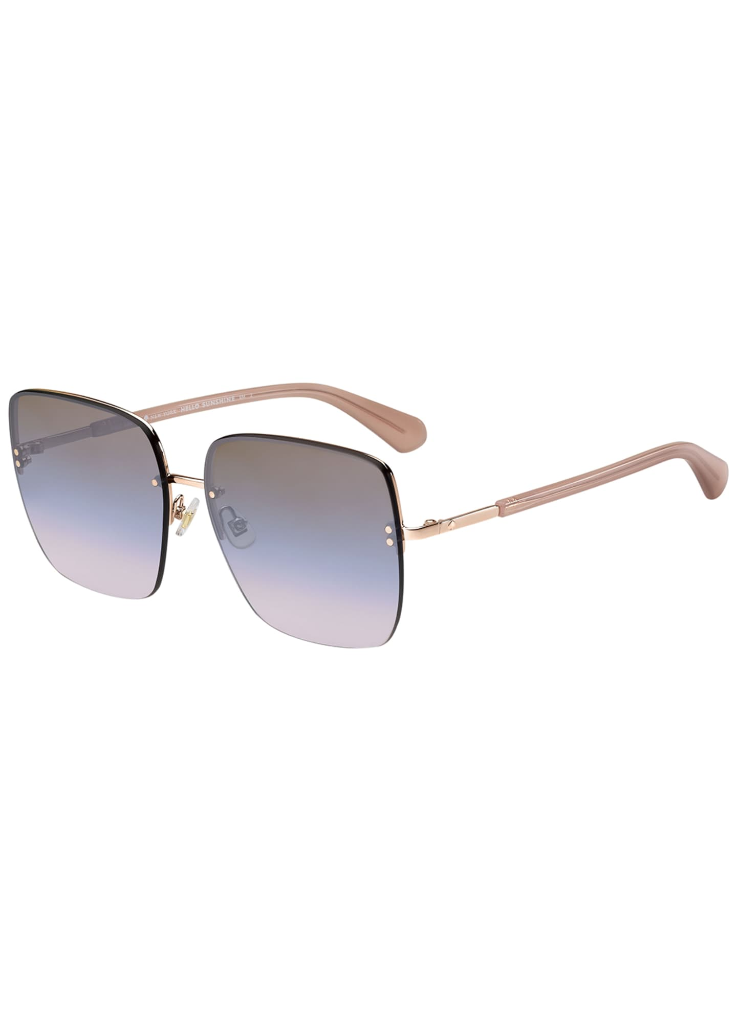 kate spade new york janays square acetate sunglasses