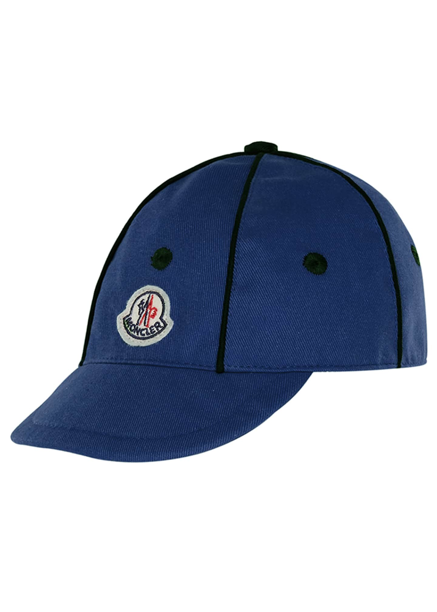 Image 1 of 1: Kids' Twill Baseball Cap w/ Contrast Piping