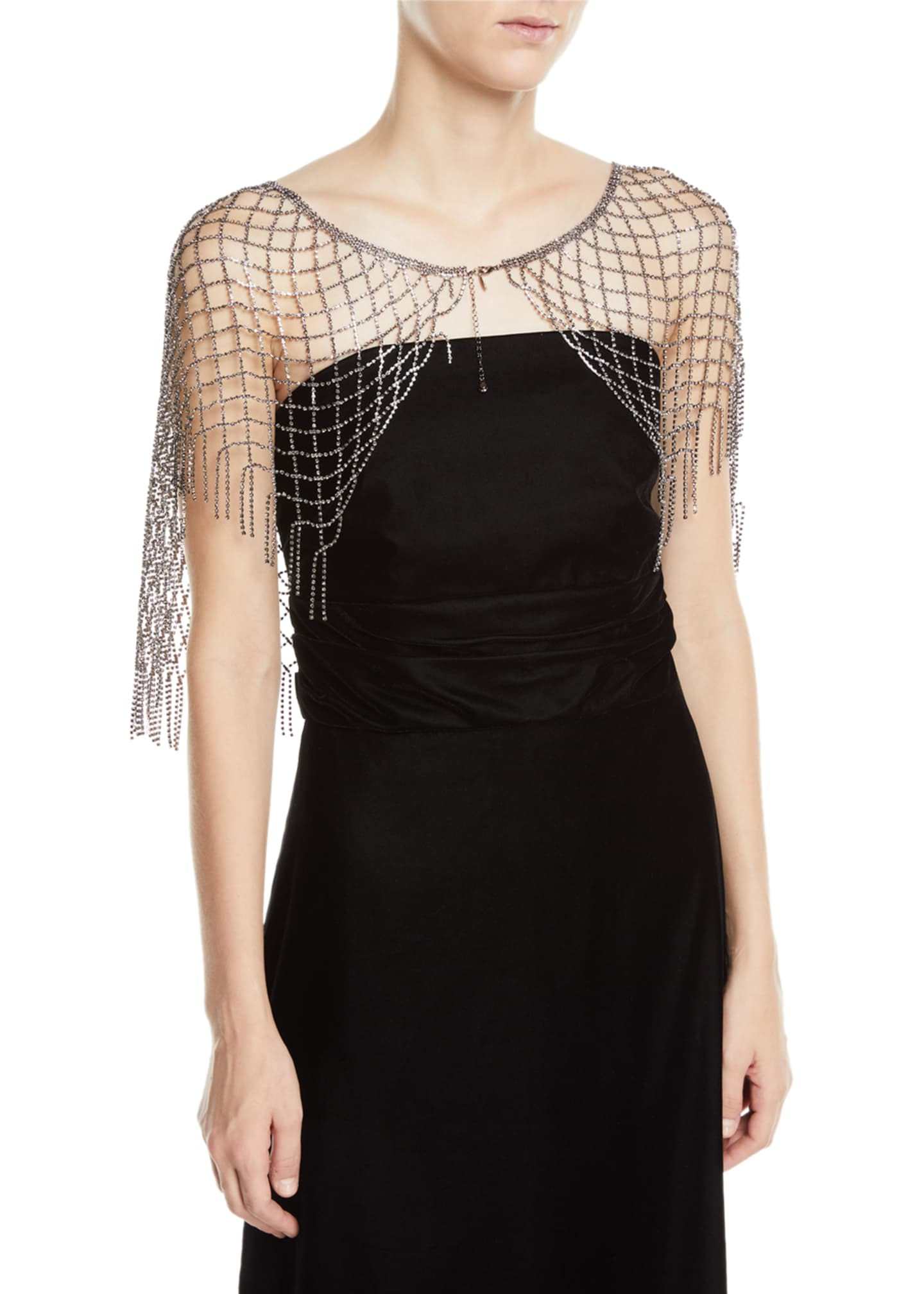 Exclusively Bergdorf Goodman Crystal Capelet