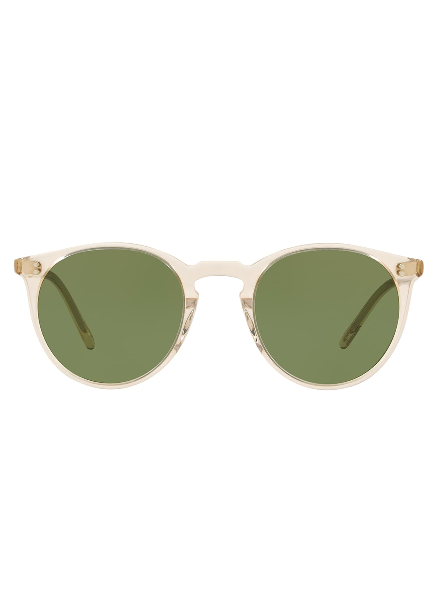 Image 2 of 2: O'Malley Round Acetate Sunglasses
