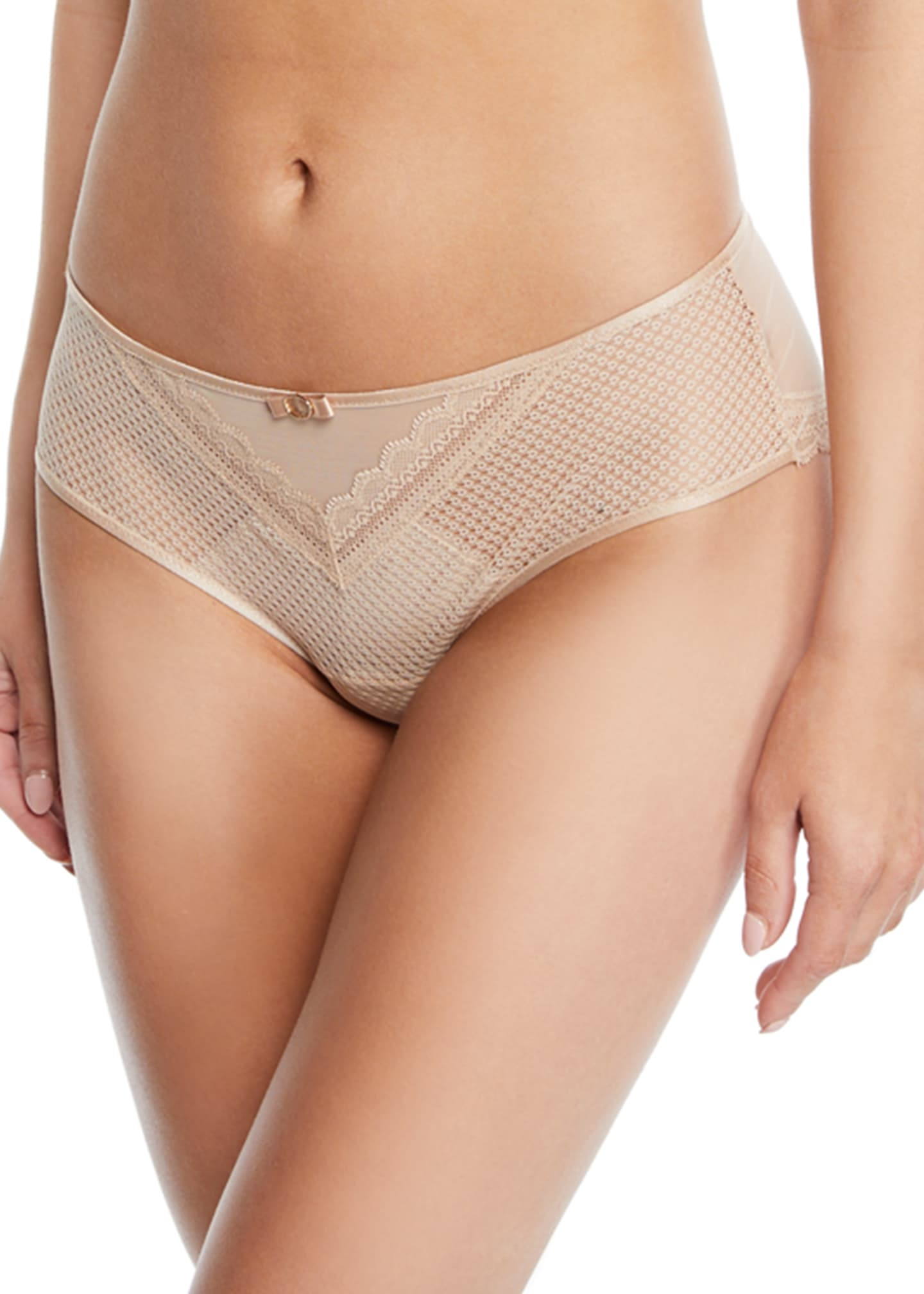 Image 1 of 1: Parisian Lace Hipster Briefs
