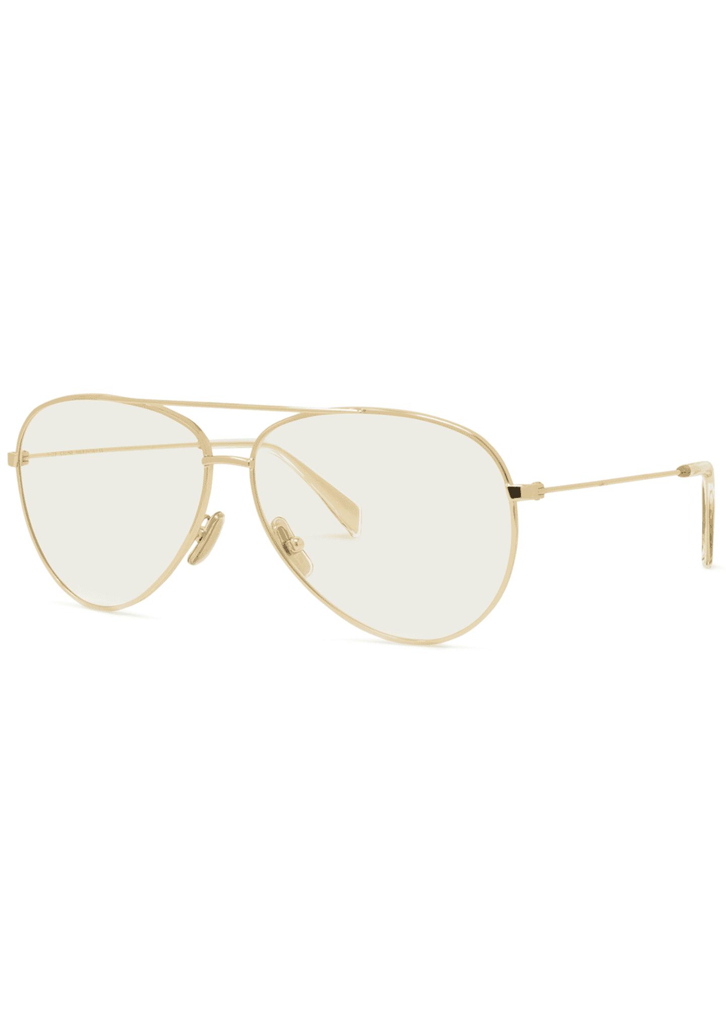 Celine Aviator Gradient Sunglasses