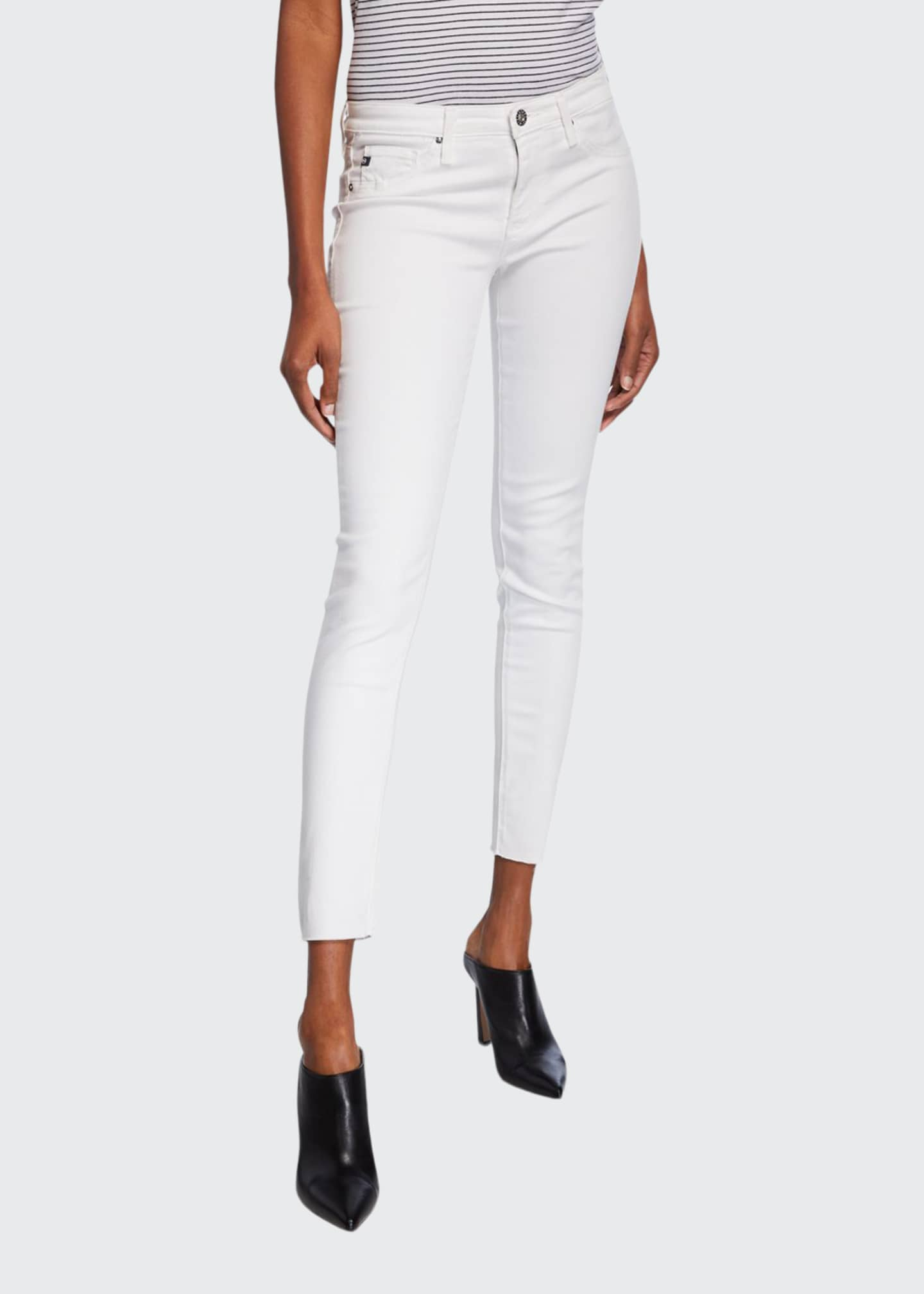 AG The Legging Ankle Cropped Skinny Jeans