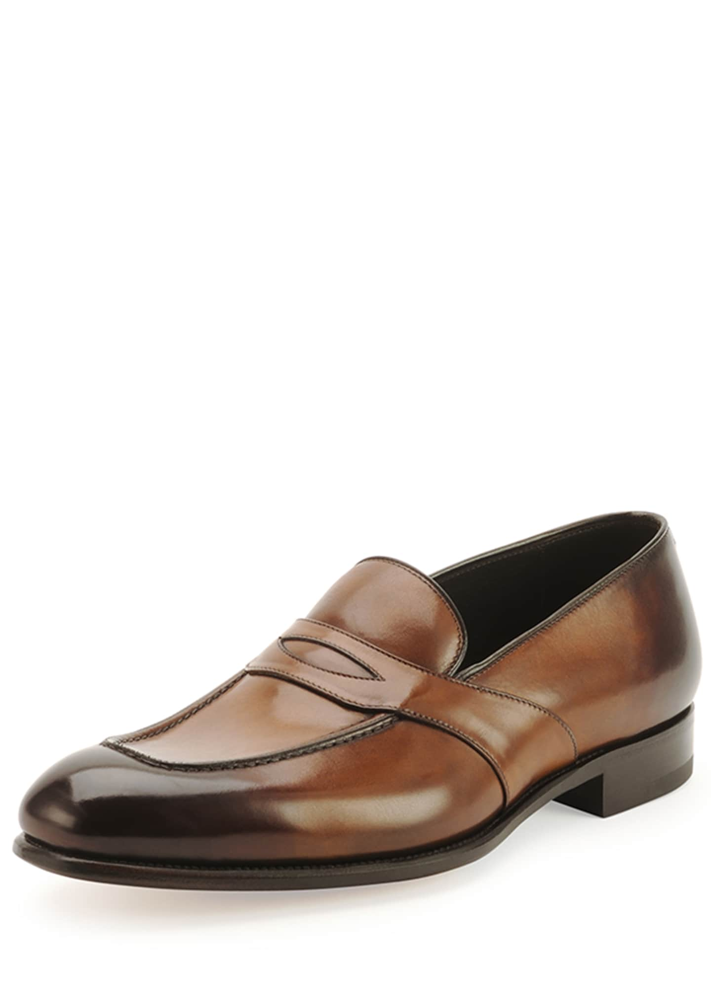 TOM FORD Charles Penny Loafer, Brown