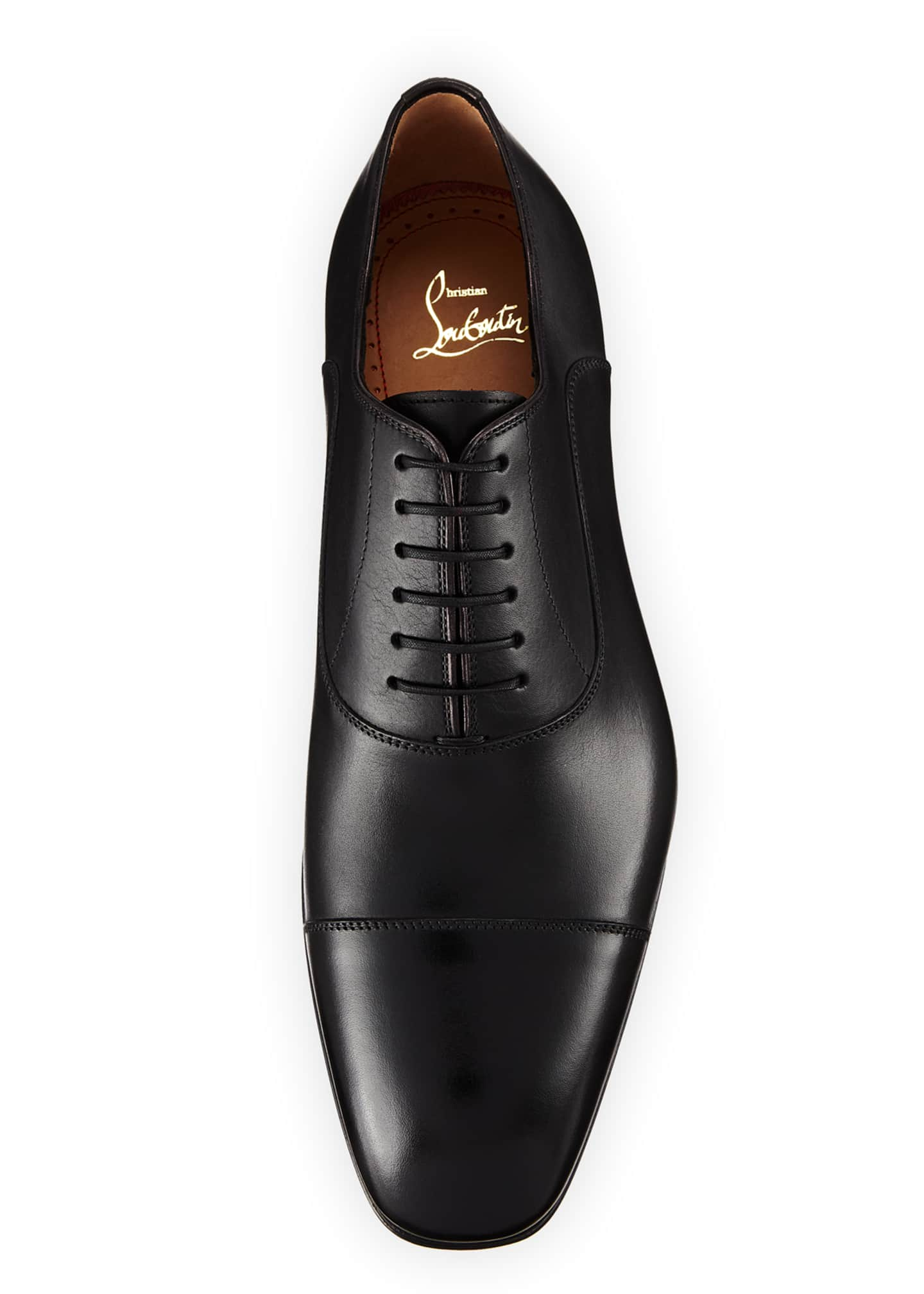 Image 2 of 3: Greggo Men's Lace-Up Leather Dress Shoes